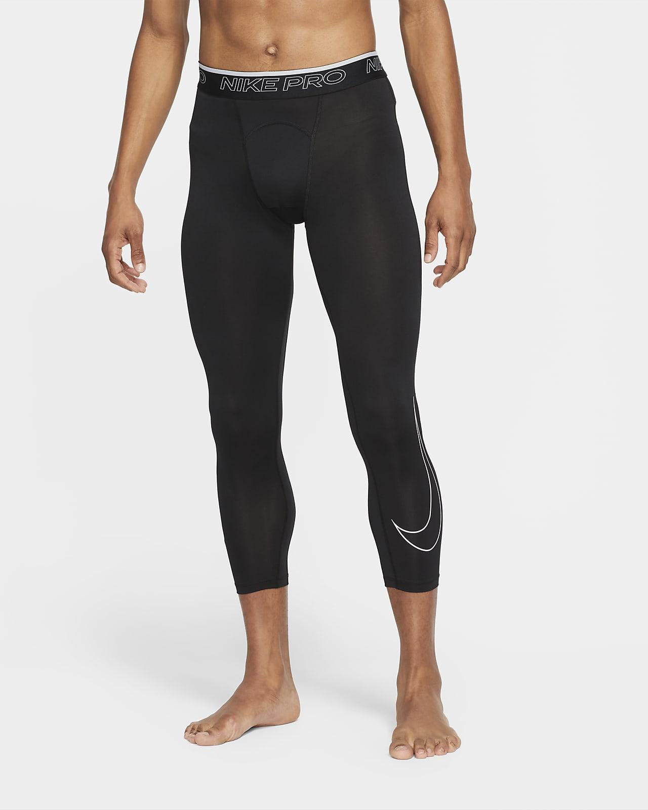 Mallas de 3/4 para hombre Nike Pro Dri-FIT