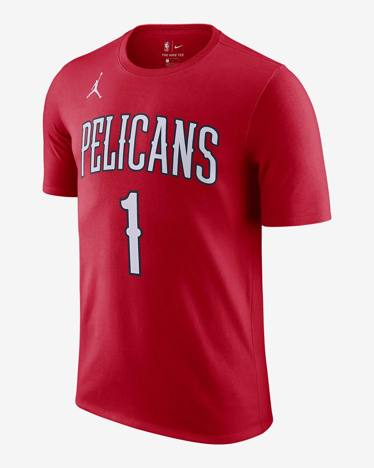 Zion Williamson Pelicans Statement Edition Jordan NBA Erkek Tişörtü