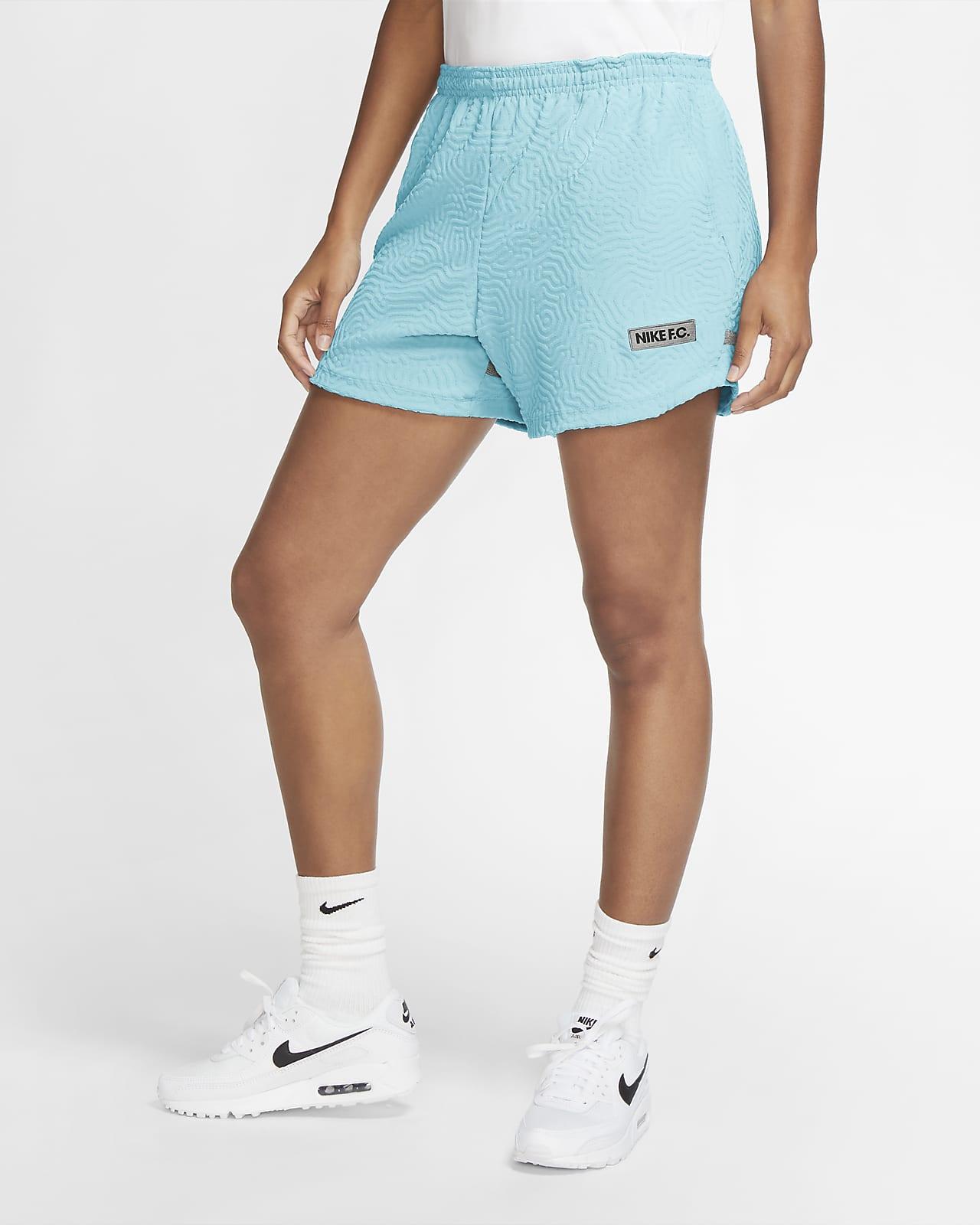 Nike F.C. Fußball-Track-Shorts für Damen