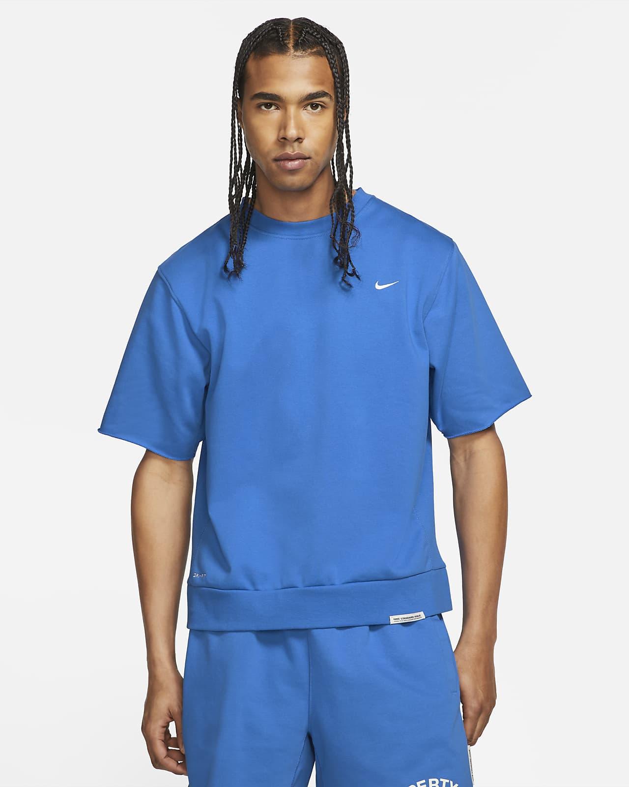Nike Dri-FIT Standard Issue Men's Basketball Cutoff Crew Top