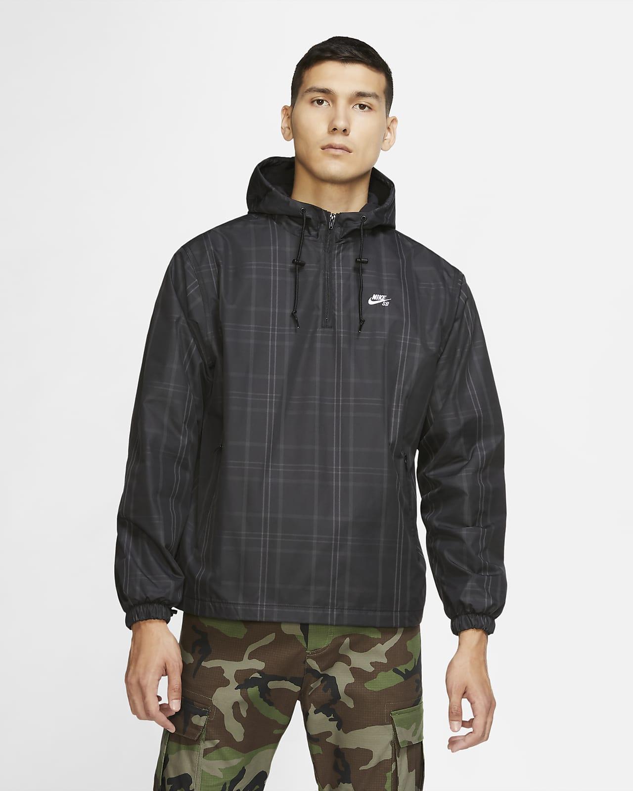Nike SB Men's 1/2-Zip Skate Jacket