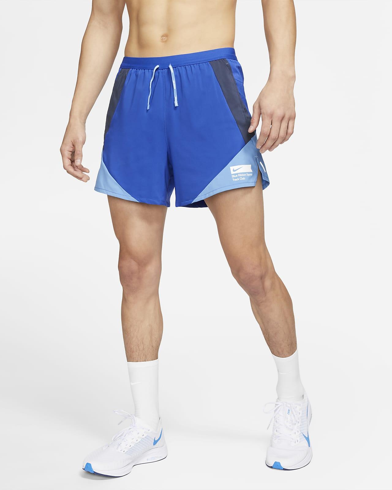 กางเกงวิ่งขาสั้นมีซับในผู้ชาย Nike Flex Stride BRS