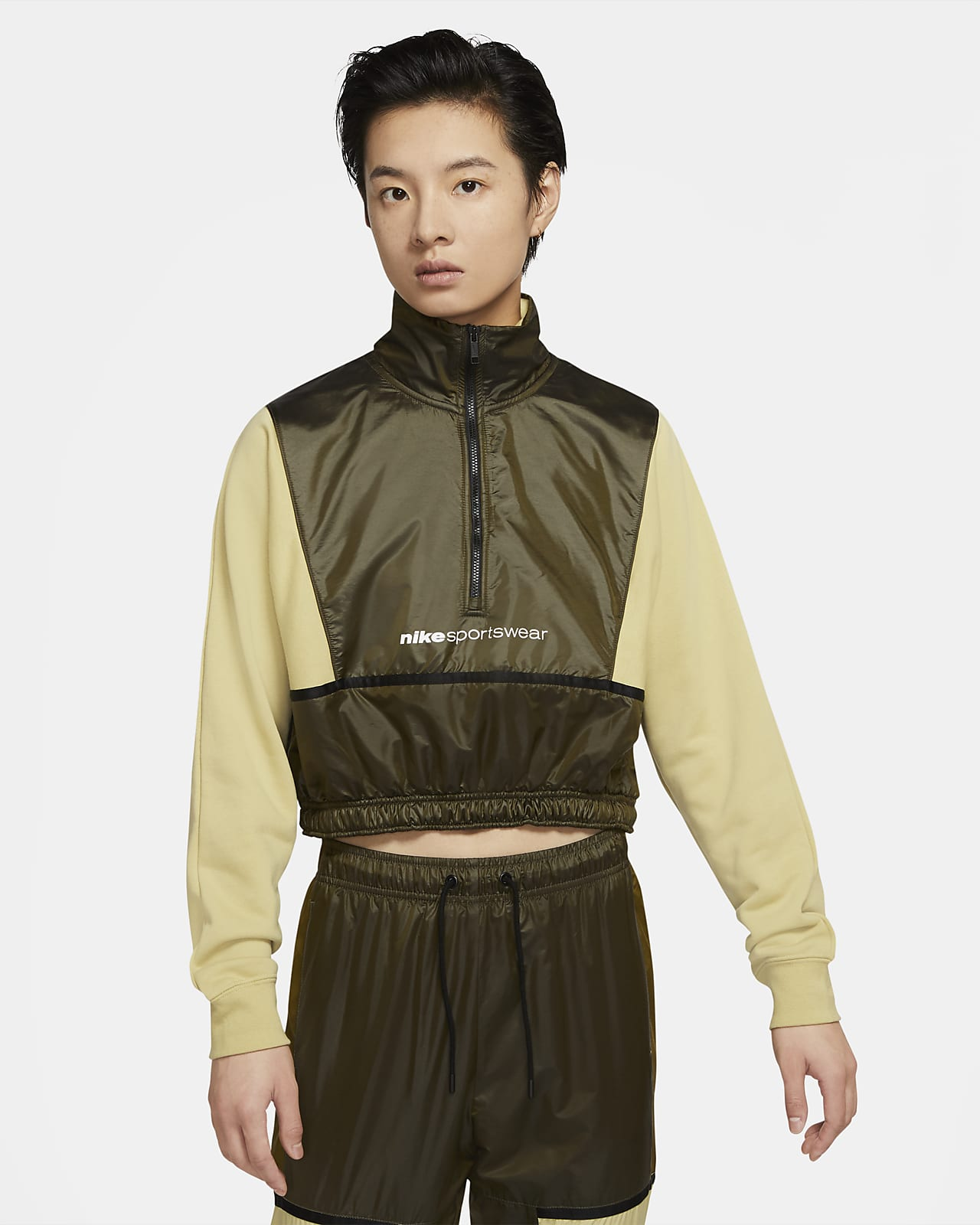 Nike Sportswear 女子 1/2 拉链开襟上衣