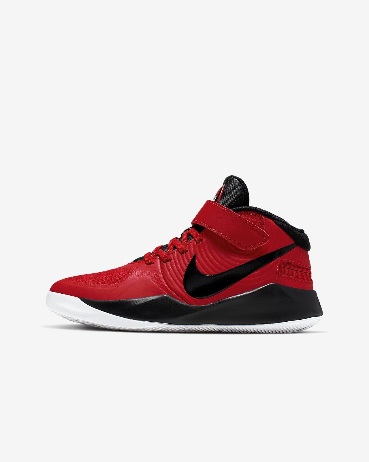 Nike Team Hustle D 9 FlyEase Older Kids' Basketball Shoe