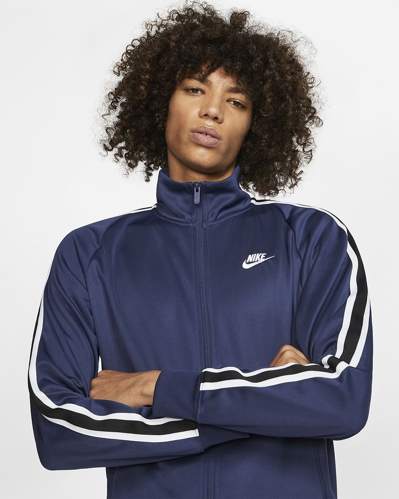 Veste de survetement Nike F.C. N98 Vetements Homme Bleu