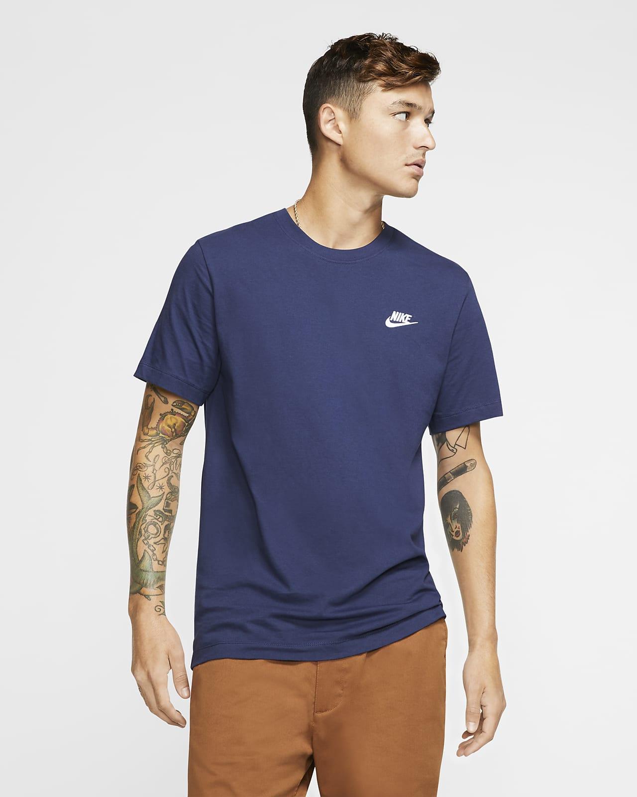 T-shirt Nike Sportswear Club para homem