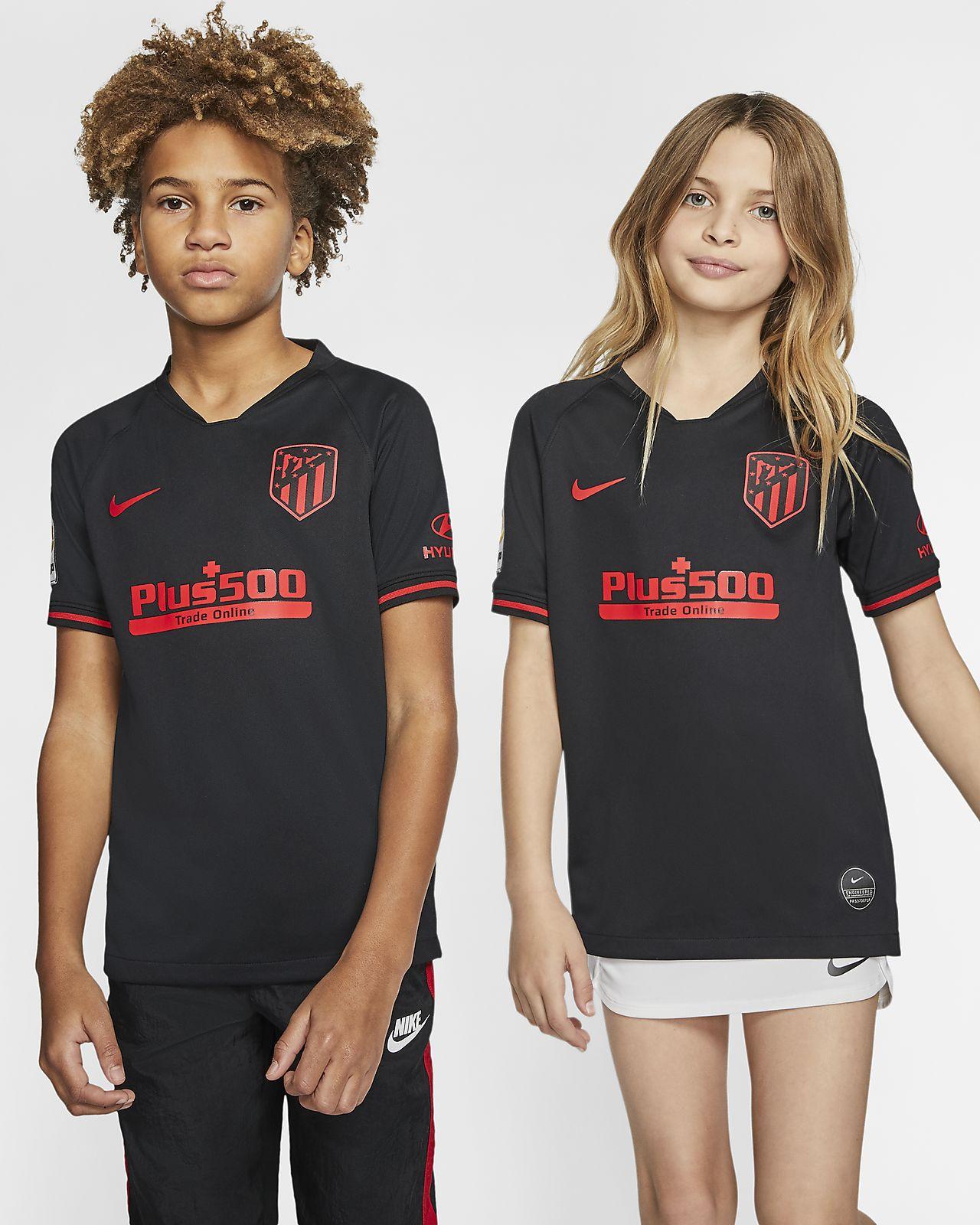Atlético de Madrid 2019/20 Stadium Away Older Kids' Football Shirt