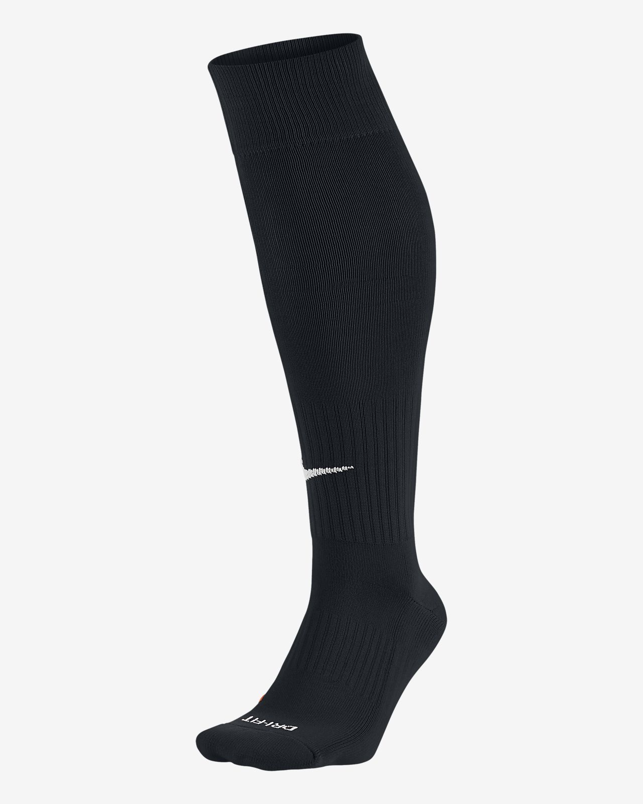 chaussettes nike football noir et orange