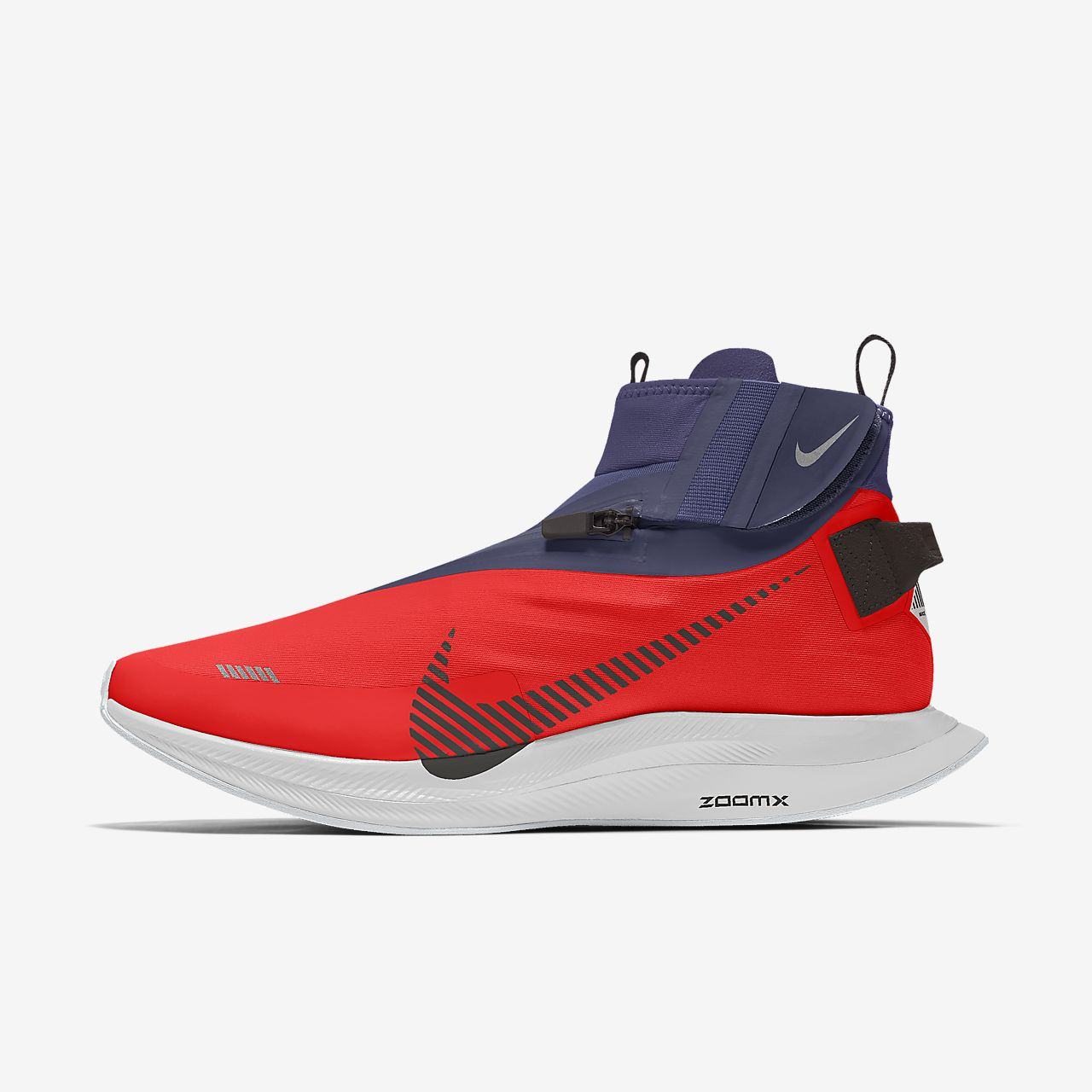 Sapatilhas de running personalizáveis Nike Zoom Pegasus Turbo Shield By You para mulher