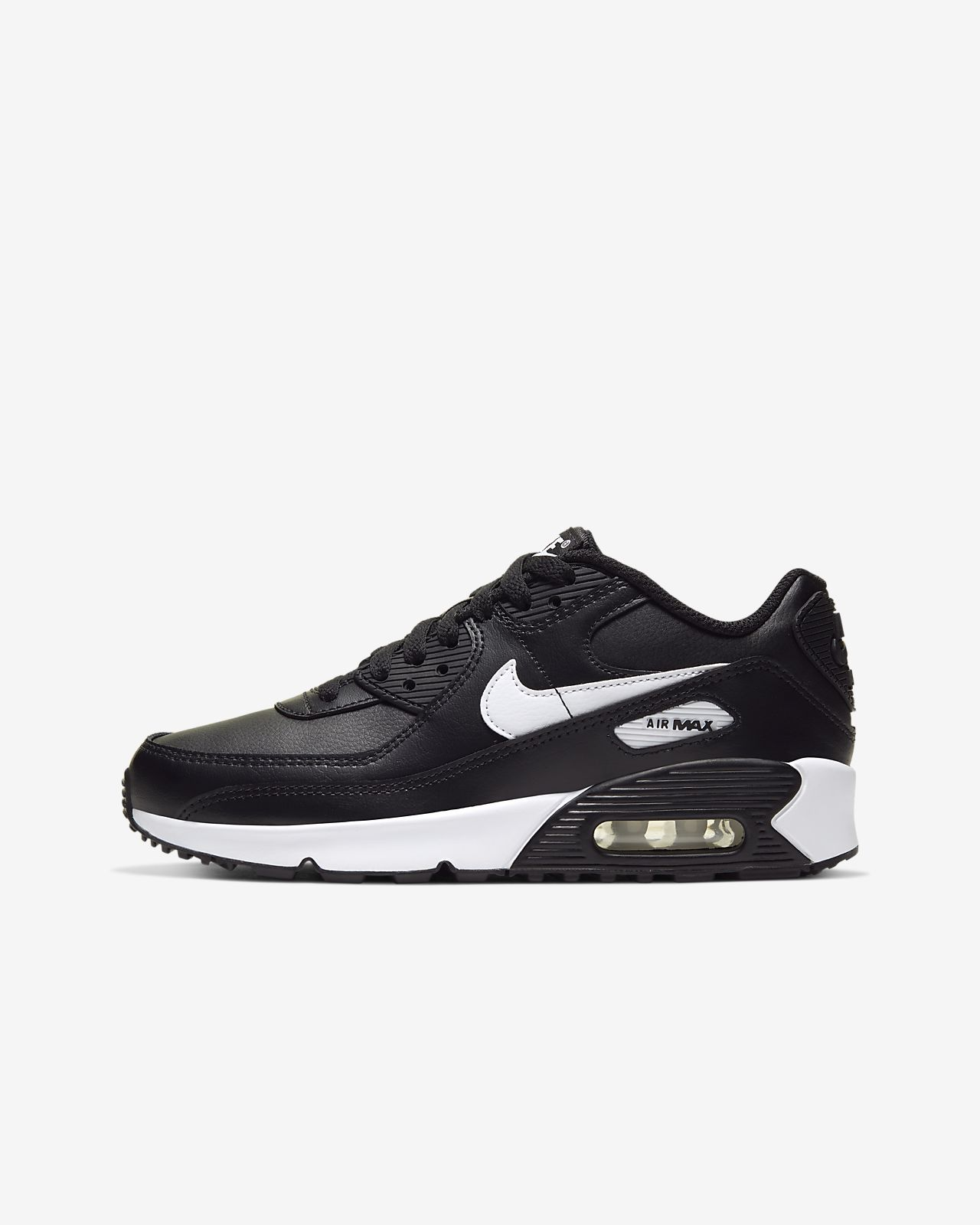 5.5 M US Nike Air Max 90 LTR Big Kids Shoes Metallic Silver//Hyper Pink 833376-004 GS