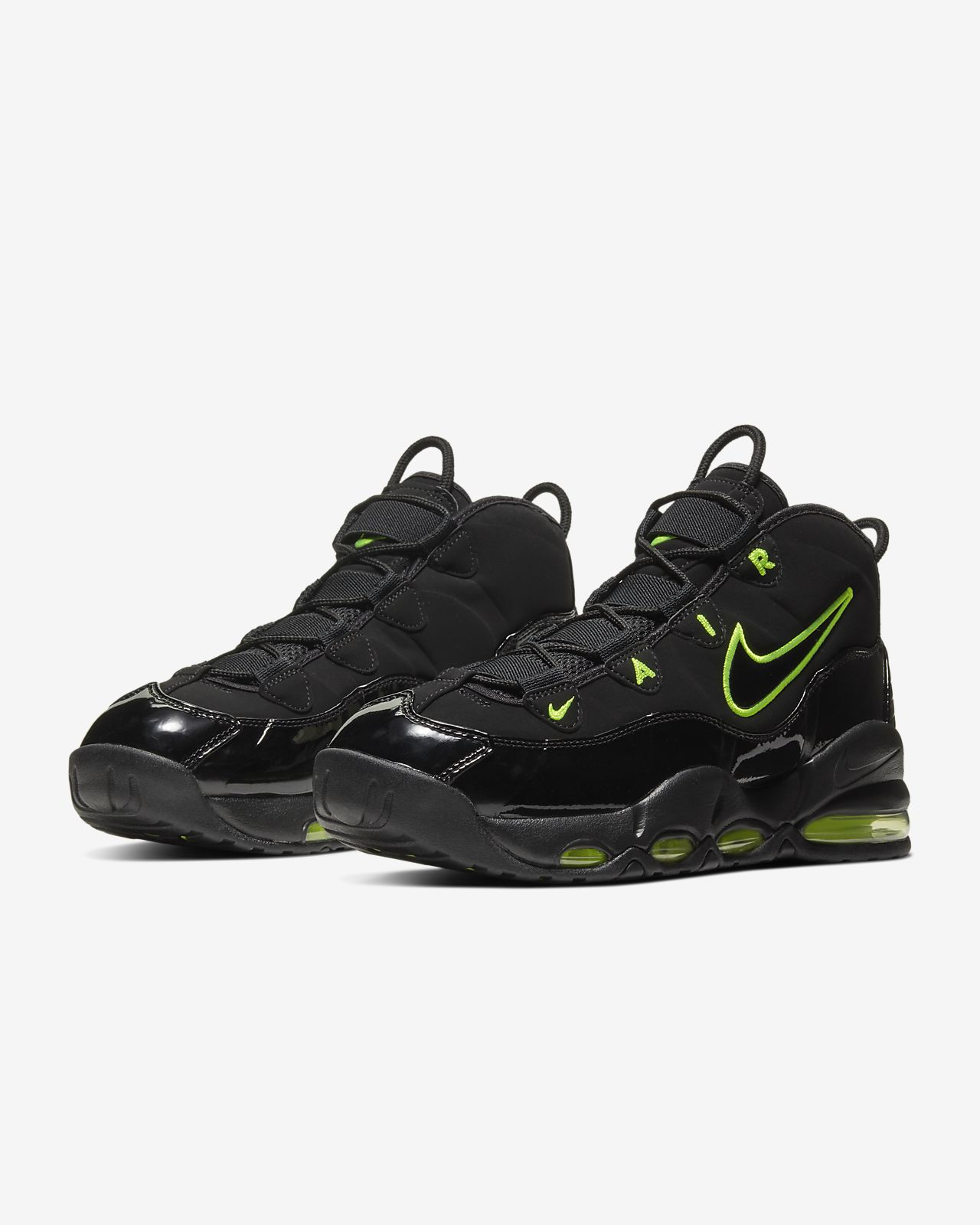 nike air more uptempo nere