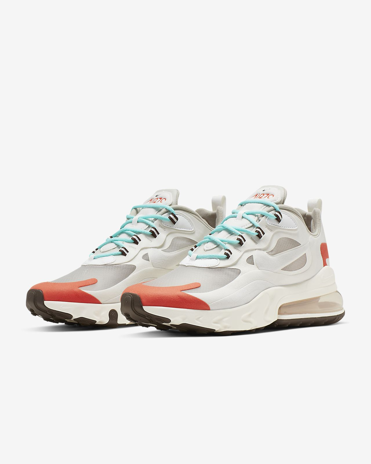 Chaussure Nike Air Max 270 React (Mid Century Art) pour Homme
