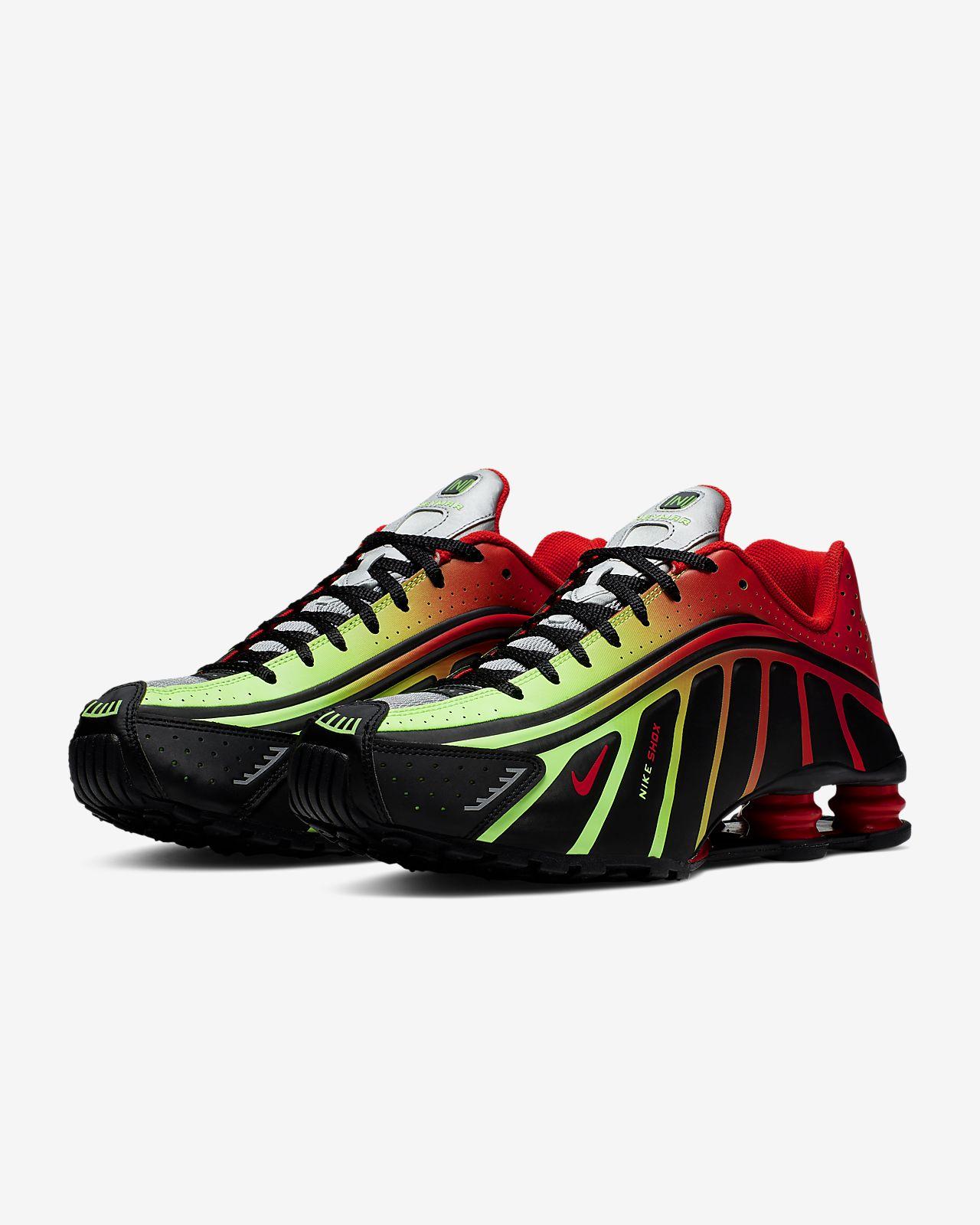 Tênis Nike Shox Junior Vermelho (Masculino)