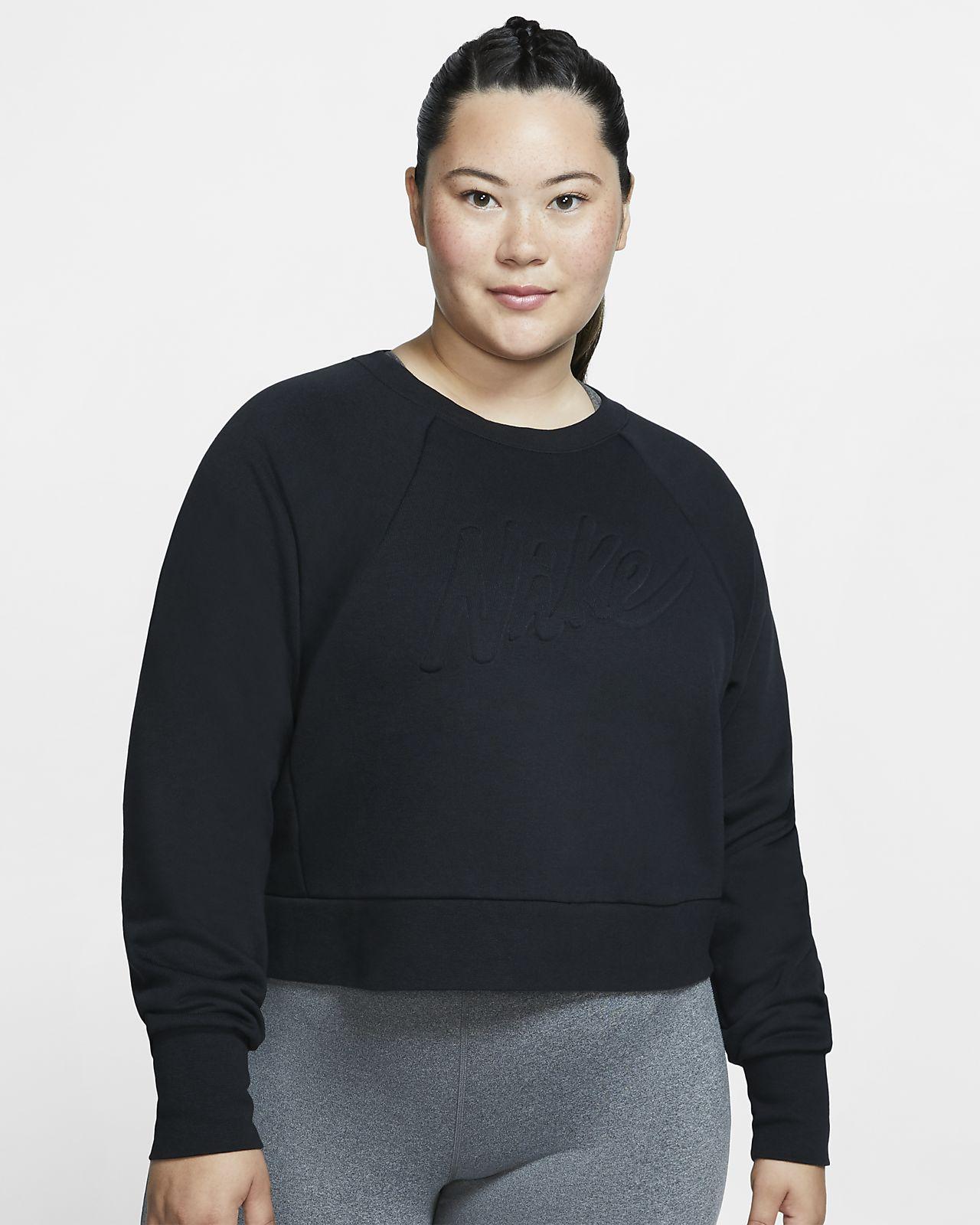 Nike Dri-FIT Luxe Langarm-Trainingsoberteil für Damen (große Größe)