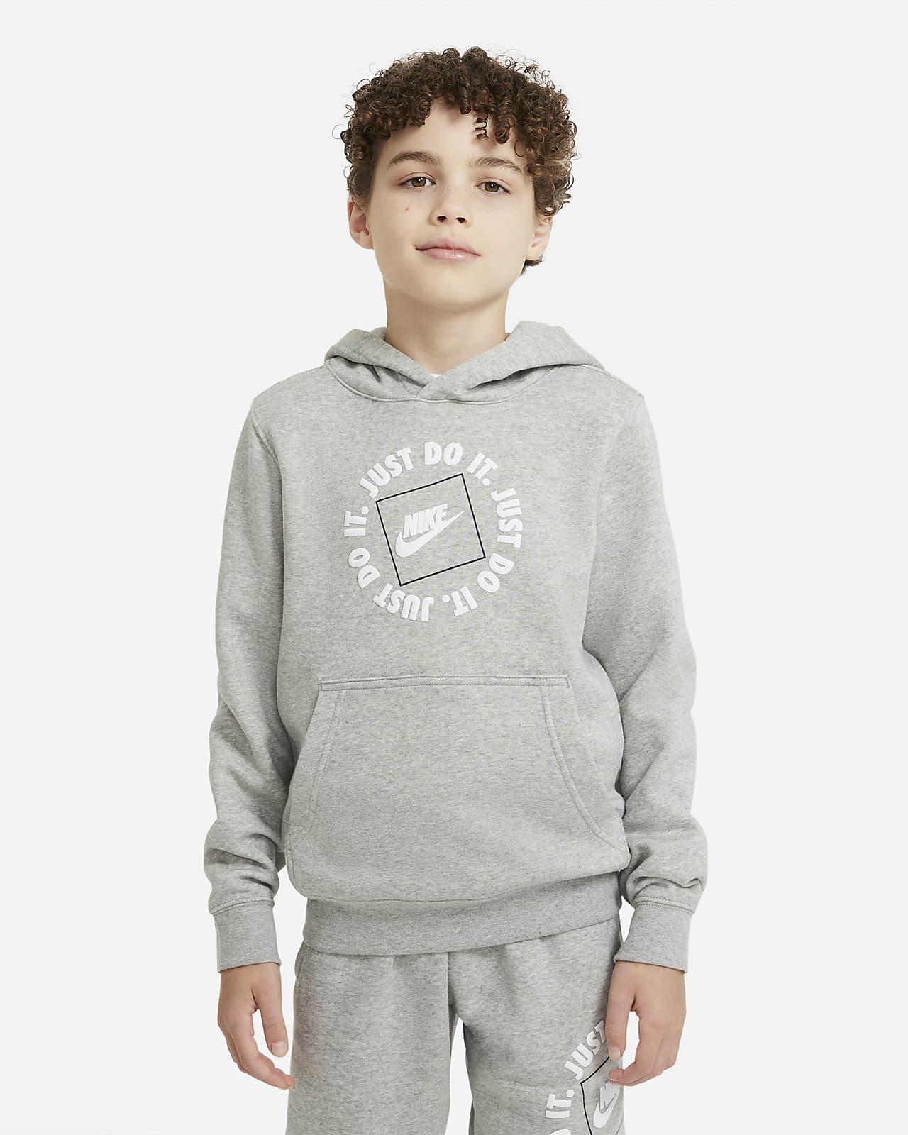 Nike Sportswear JDI kapucnis pulóver nagyobb gyerekeknek (fiúknak)