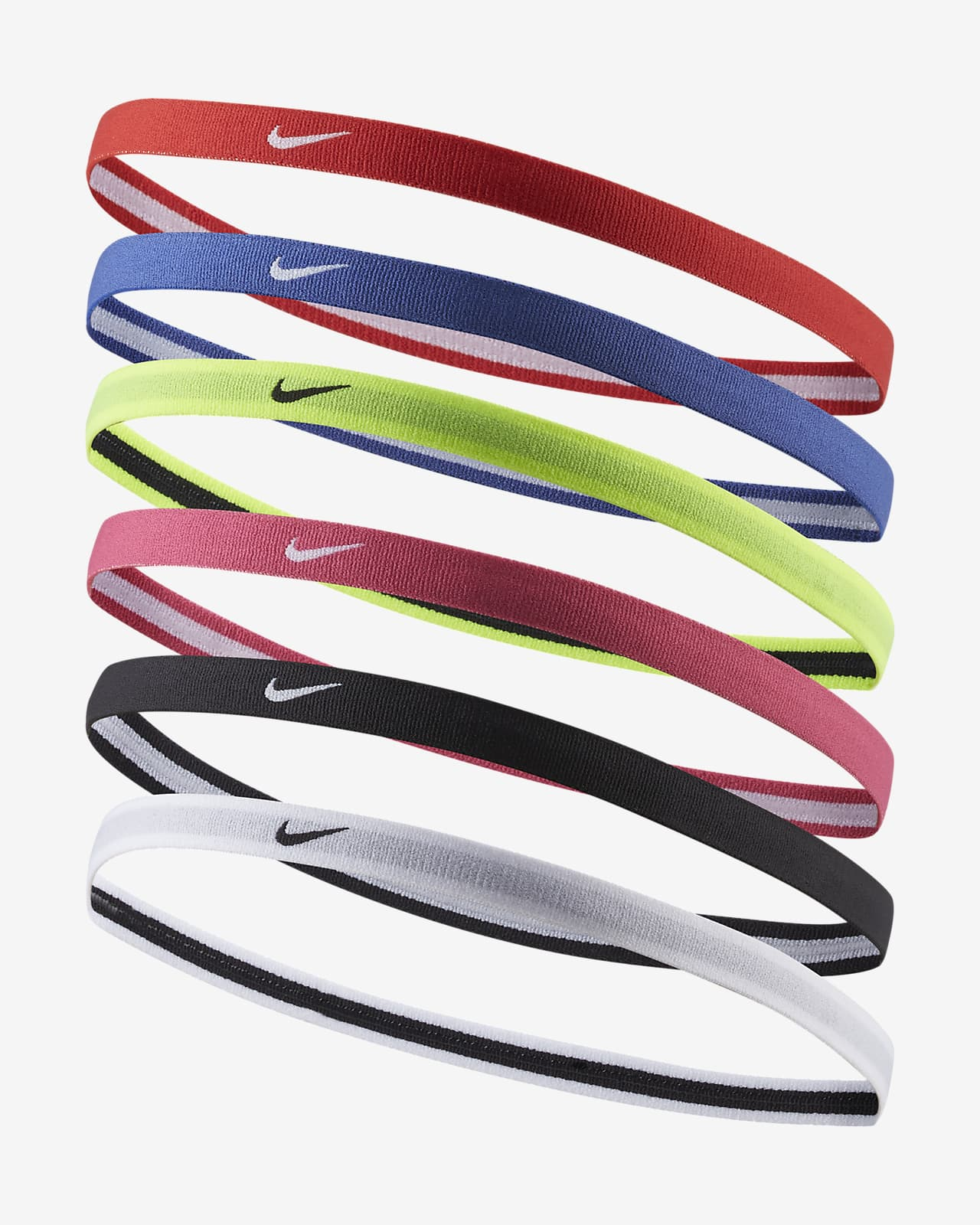 Nike Swoosh Kids' Headbands (6 Pack)