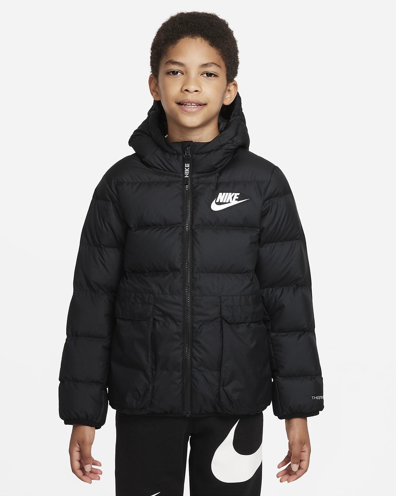 Nike Sportswear Therma-FIT Big Kids' Down-Fill Jacket