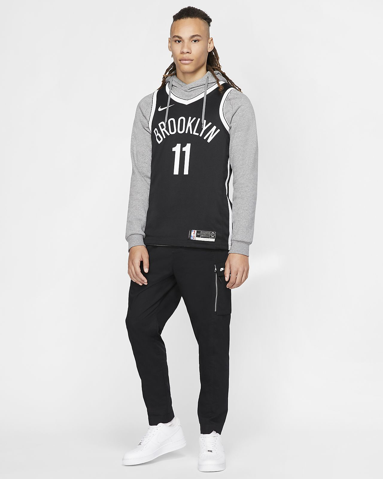 Kyrie Irving Icon Edition Swingman (Brooklyn Nets) tilkoblet NBA drakt