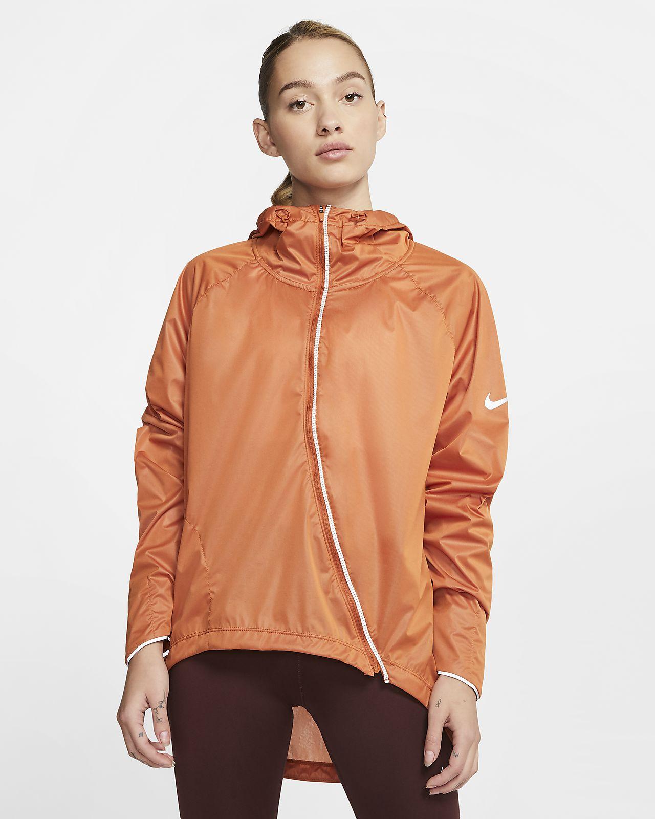 Nike Shield løpejakke til dame