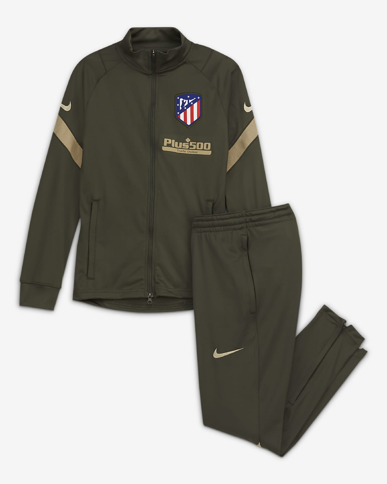 Atlético de Madrid Strike kötött futballtréningruha nagyobb gyerekeknek