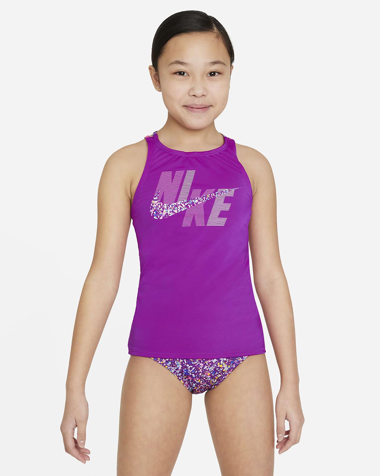 Nike Spiderback Big Kids' (Girls') Tankini