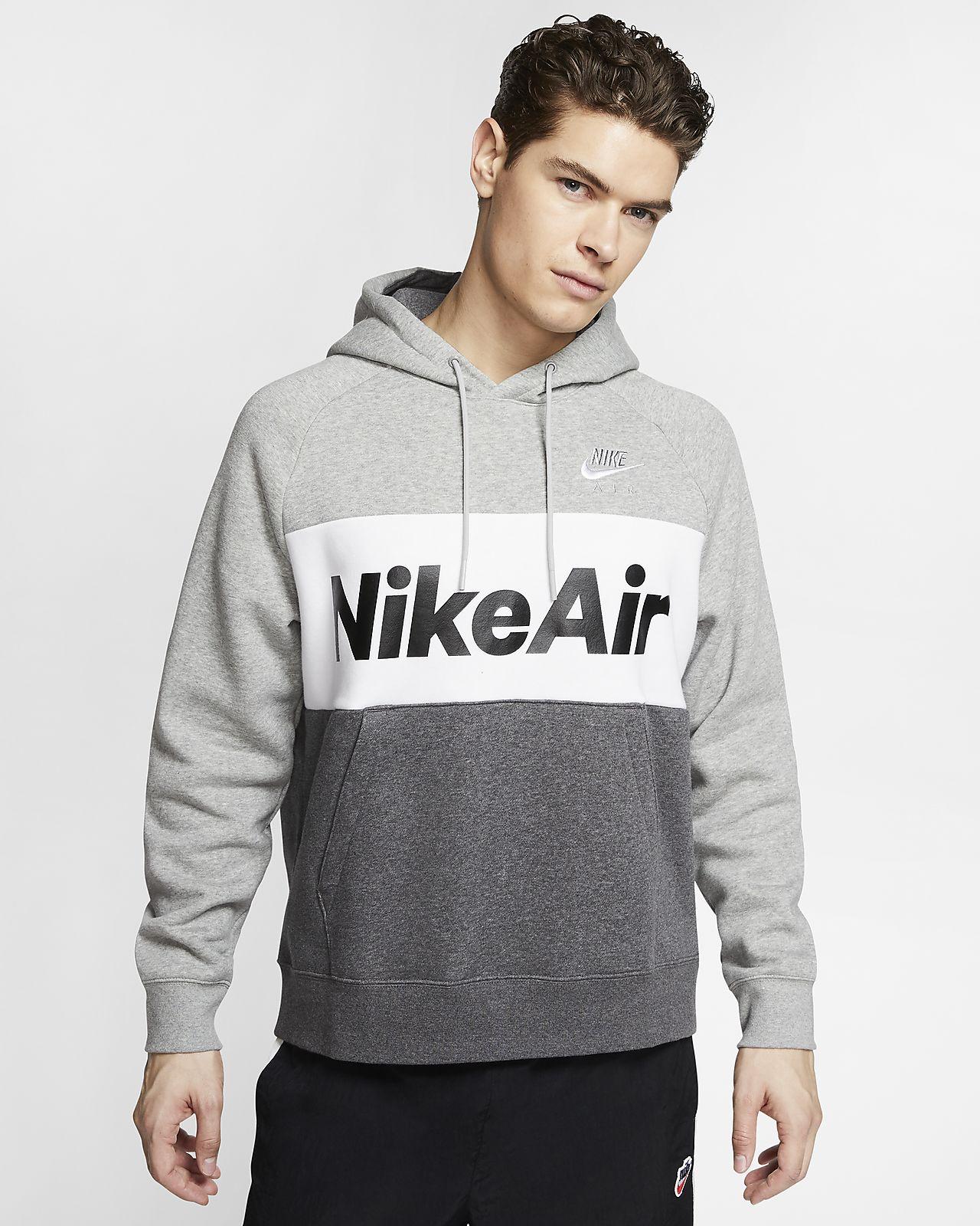 nike fleece pullover hoodie