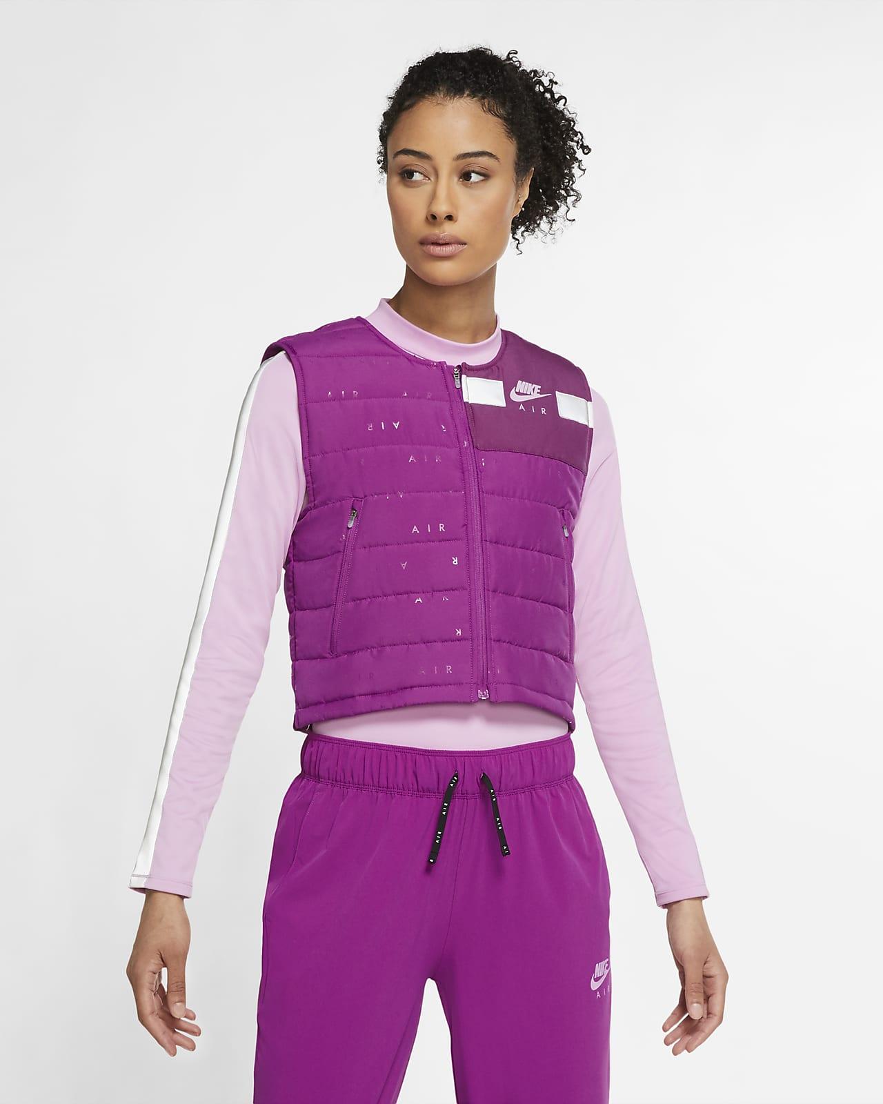Chaleco de running para mujer Nike Air