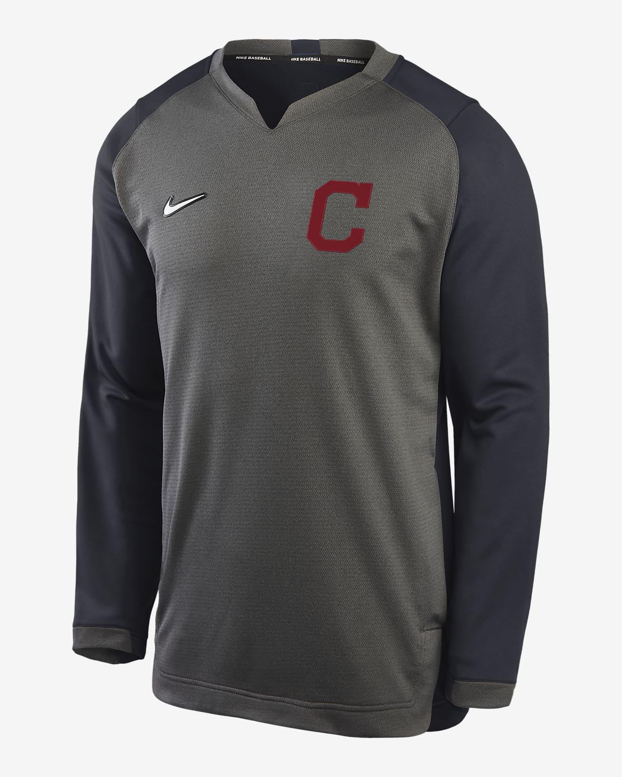 Nike Dri-FIT (MLB Cleveland) Men's Thermal Crew