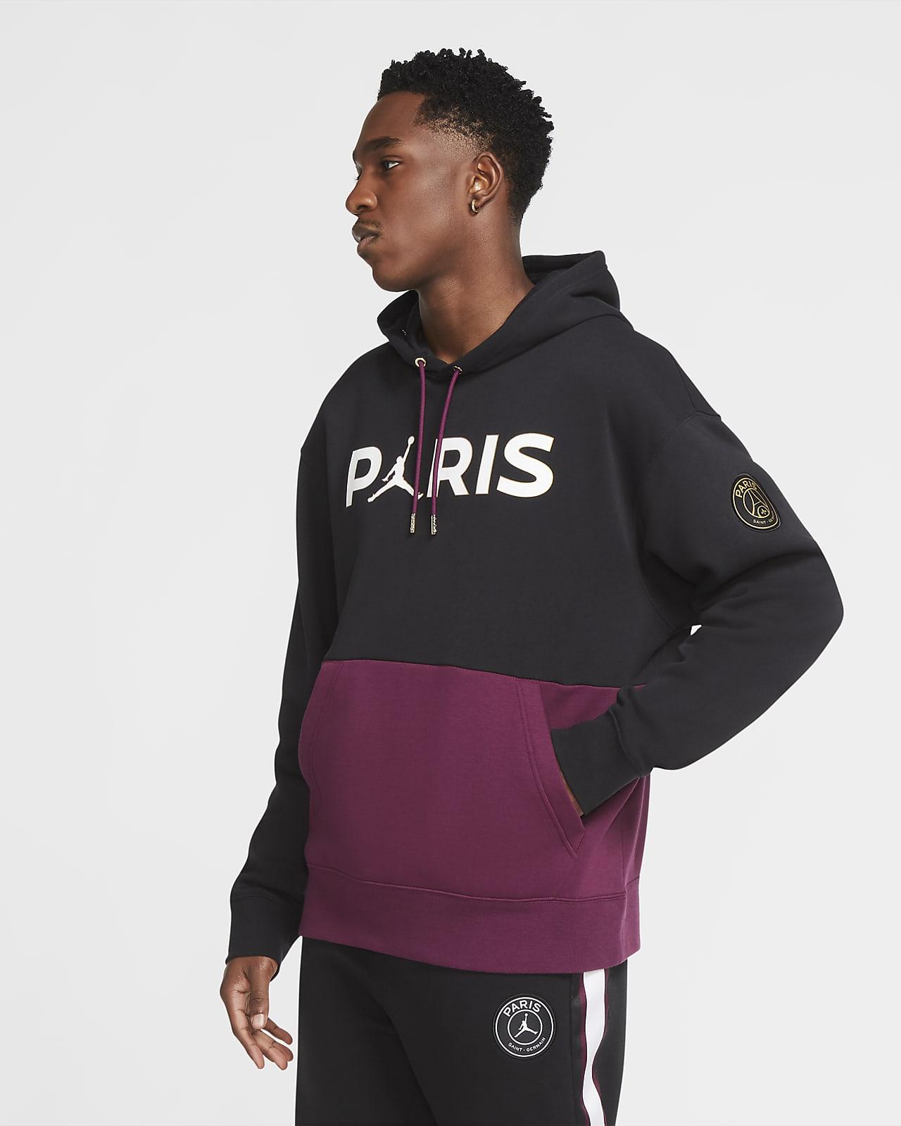 Fleecehuvtröja Paris Saint-Germain för män