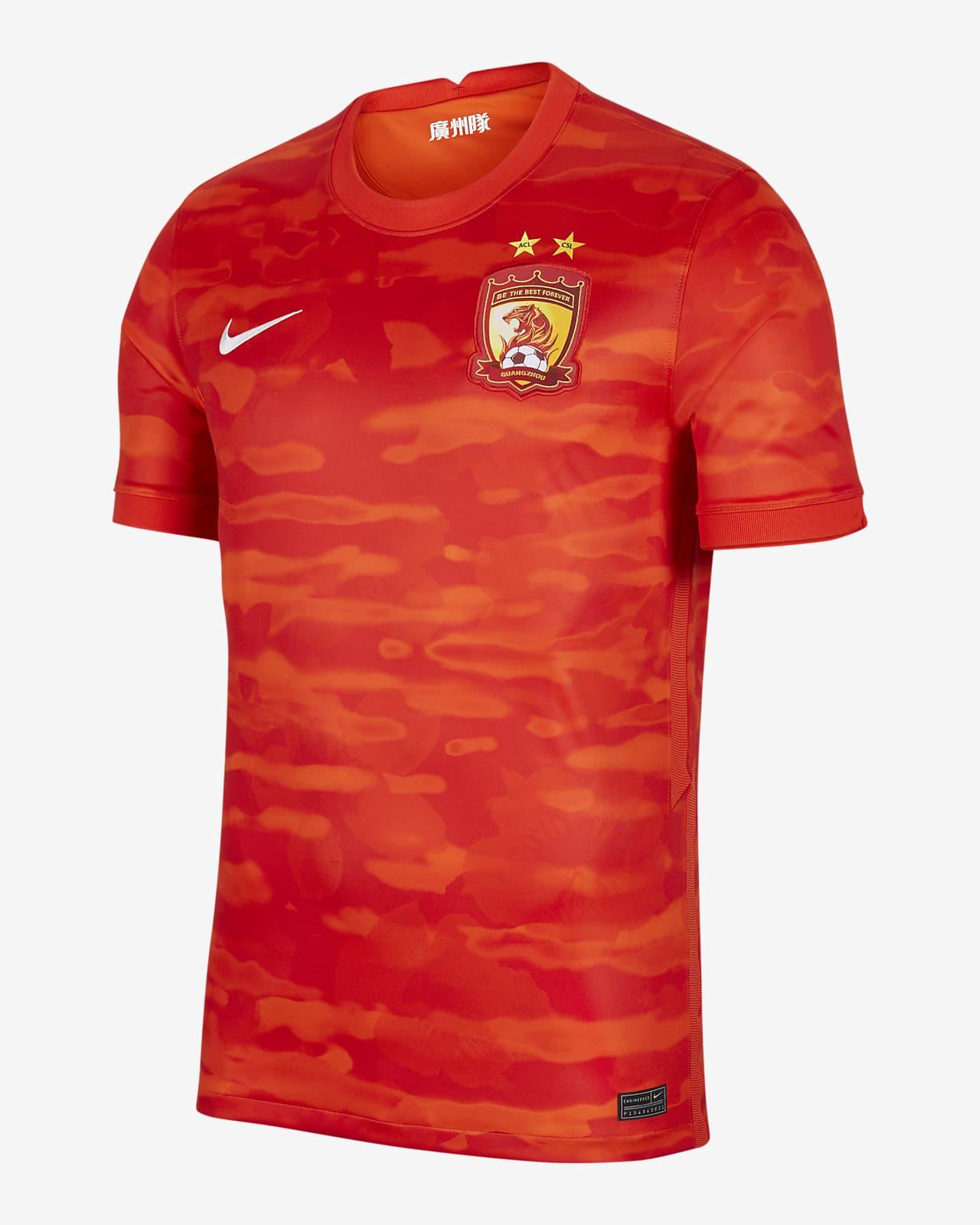 2021 赛季广州恒大淘宝主场球迷版男子足球球衣