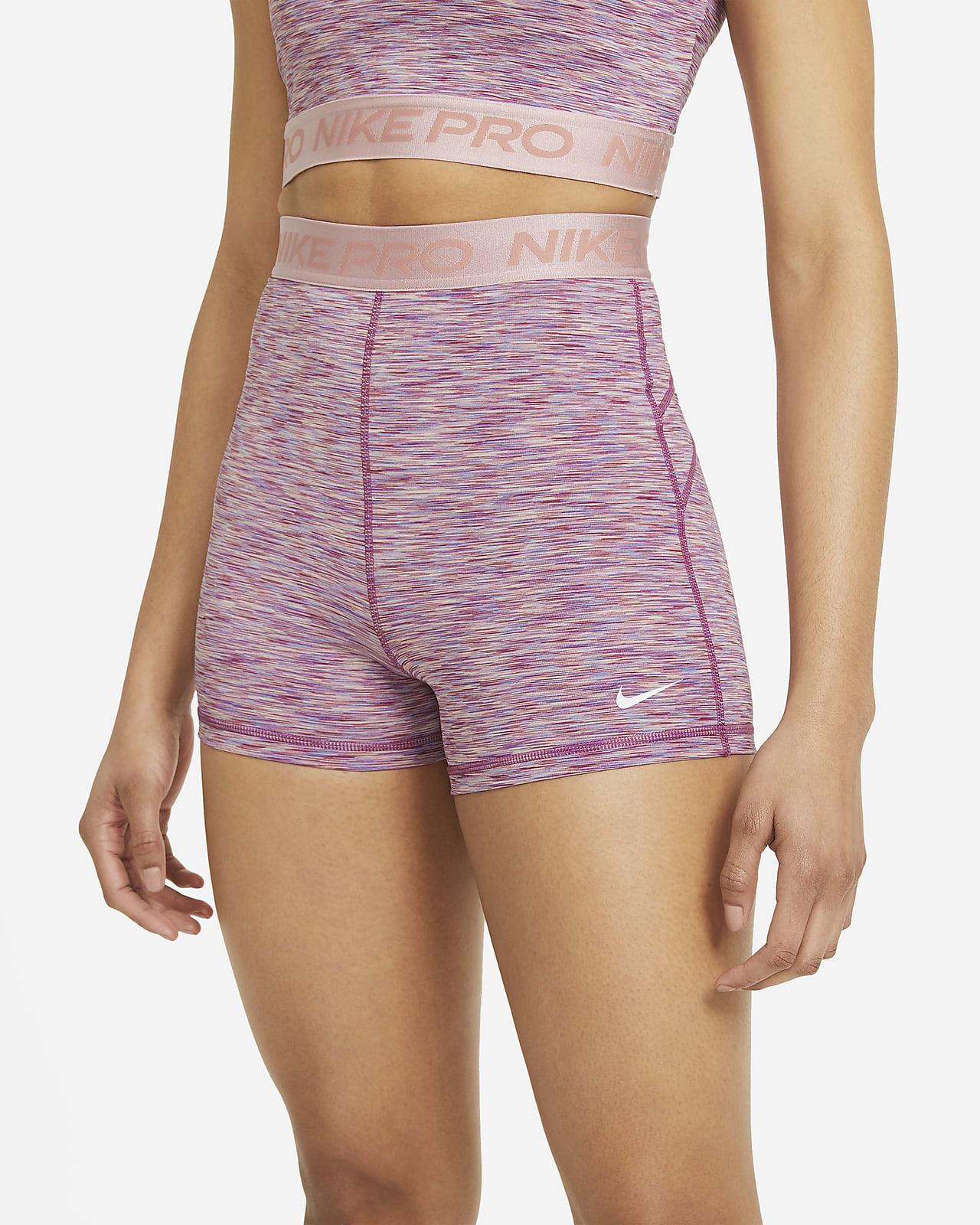 Shorts Nike Pro Space-Dye 8 cm för kvinnor