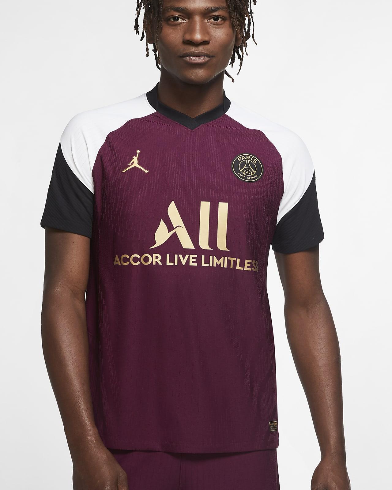 Camiseta de fútbol alternativa para hombre Vapor Match del Paris Saint-Germain 2020/21