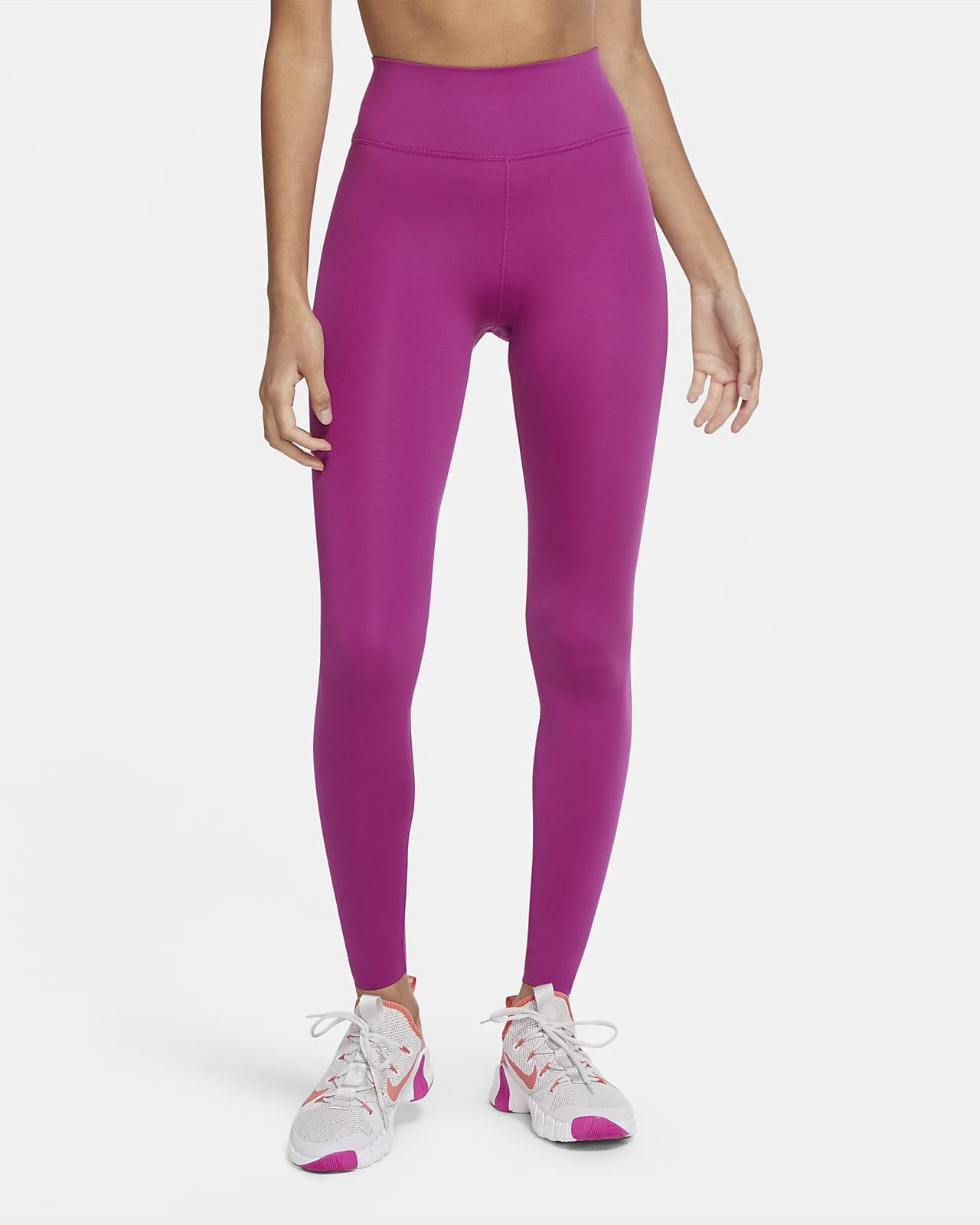 Nike One Luxe Damen-Tights mit halbhohem Bund