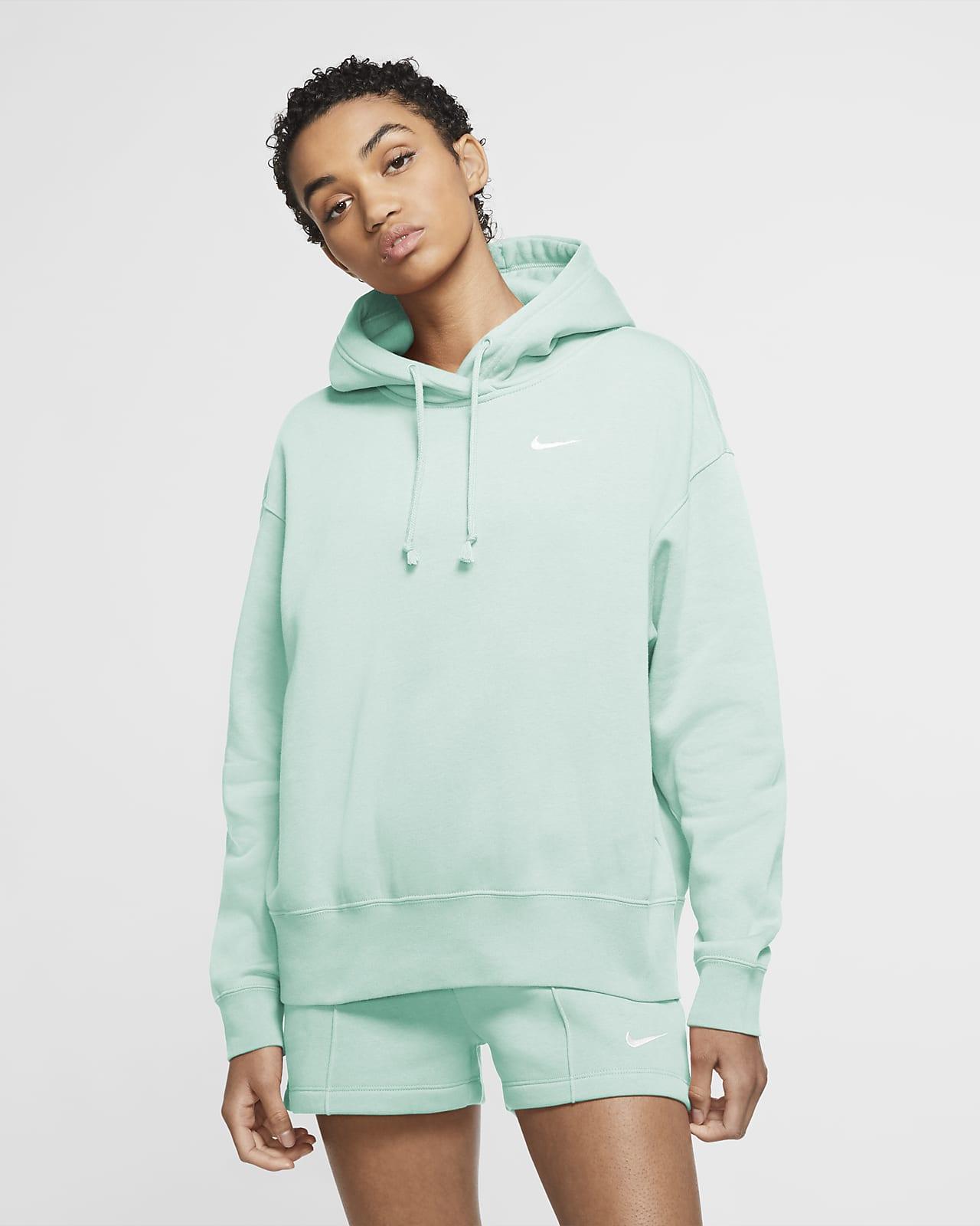 Sweat à capuche en tissu Fleece Nike Sportswear pour Femme