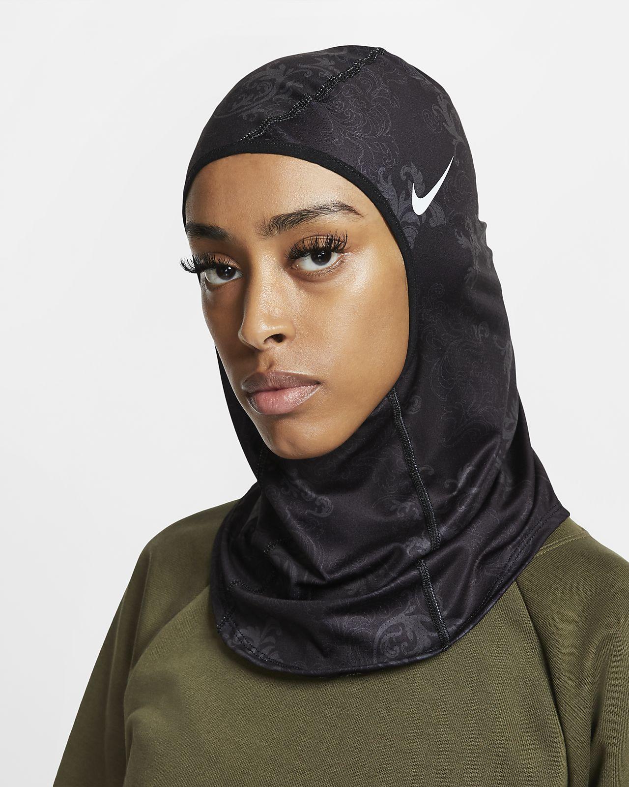Hidžáb Nike Pro s potiskem