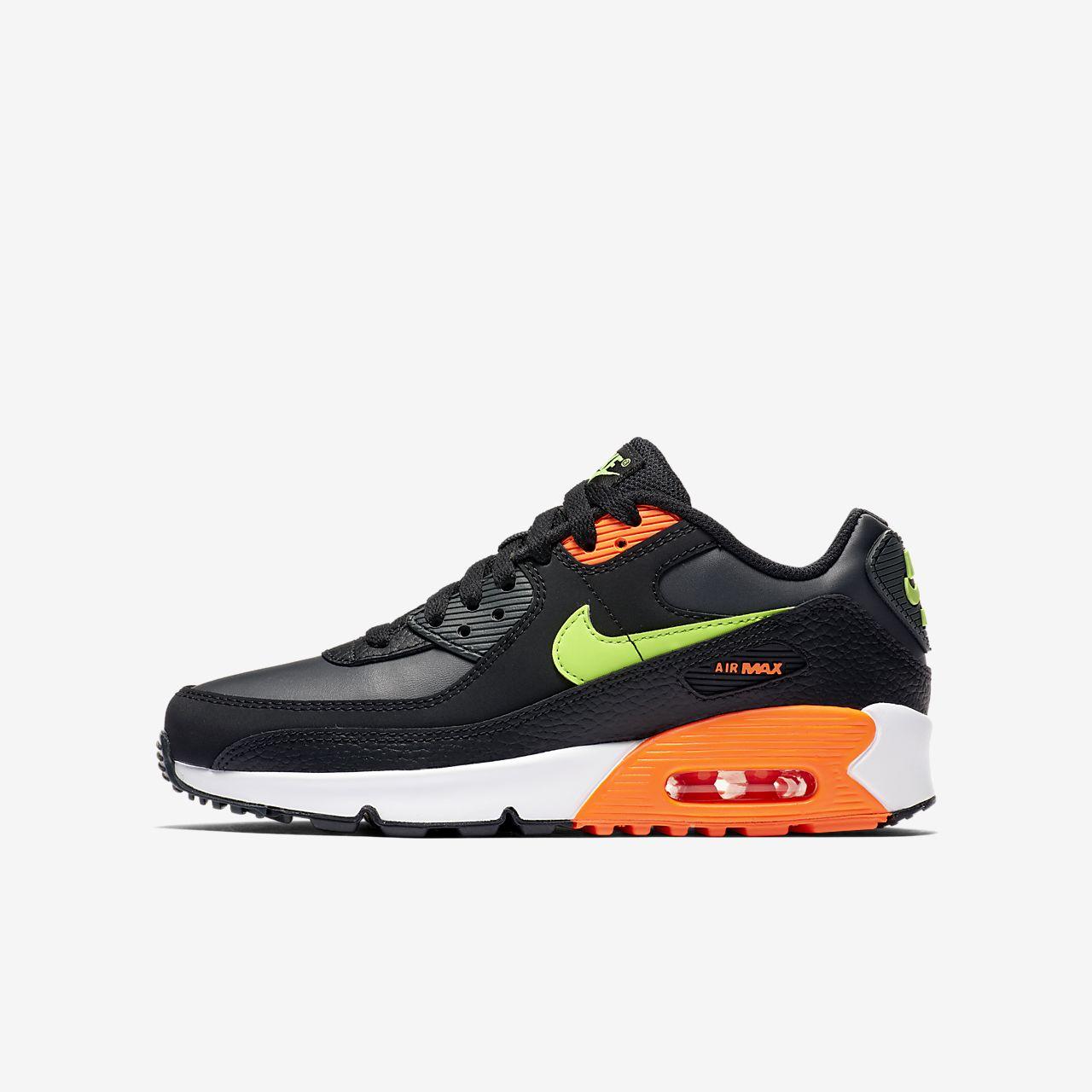 nike air max 90 czarny and orange