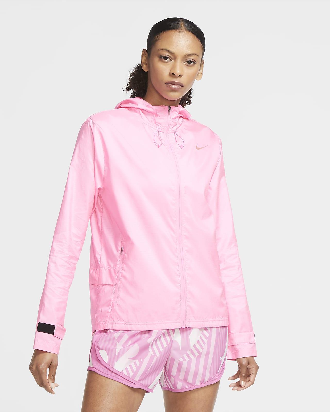 เสื้อแจ็คเก็ตวิ่งผู้หญิง Nike Essential