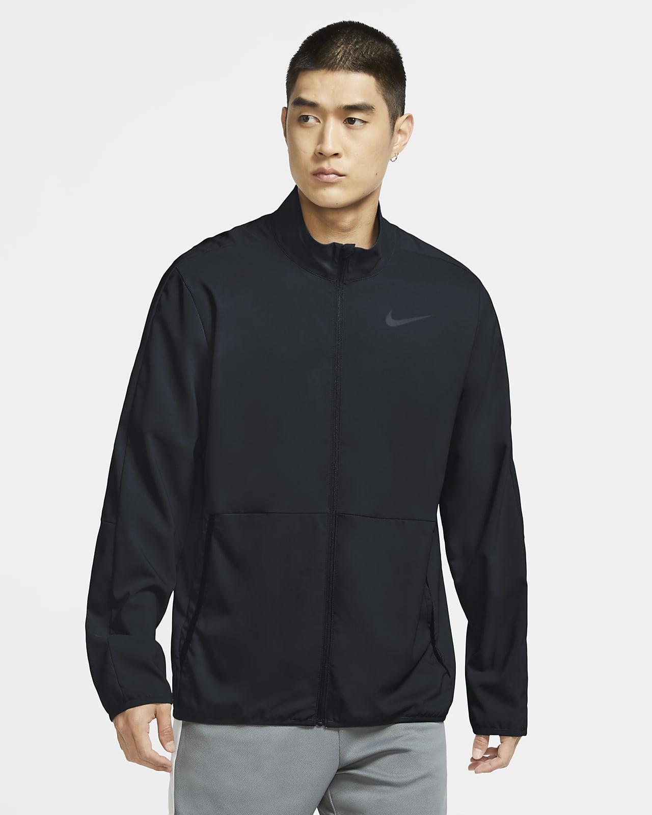 Träningsjacka Nike Dri-FIT i vävt tyg för män