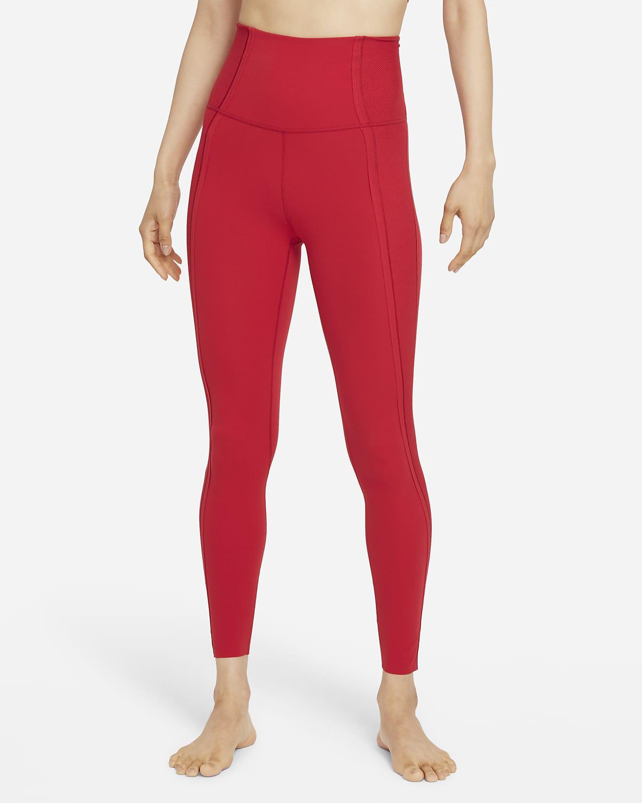 Nike Yoga Luxe Dri-FIT 女款 Infinalon 高腰九分內搭褲