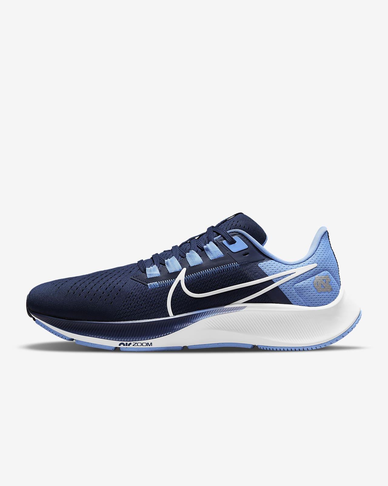 Nike College Air Zoom Pegasus 38 (UNC) Running Shoe