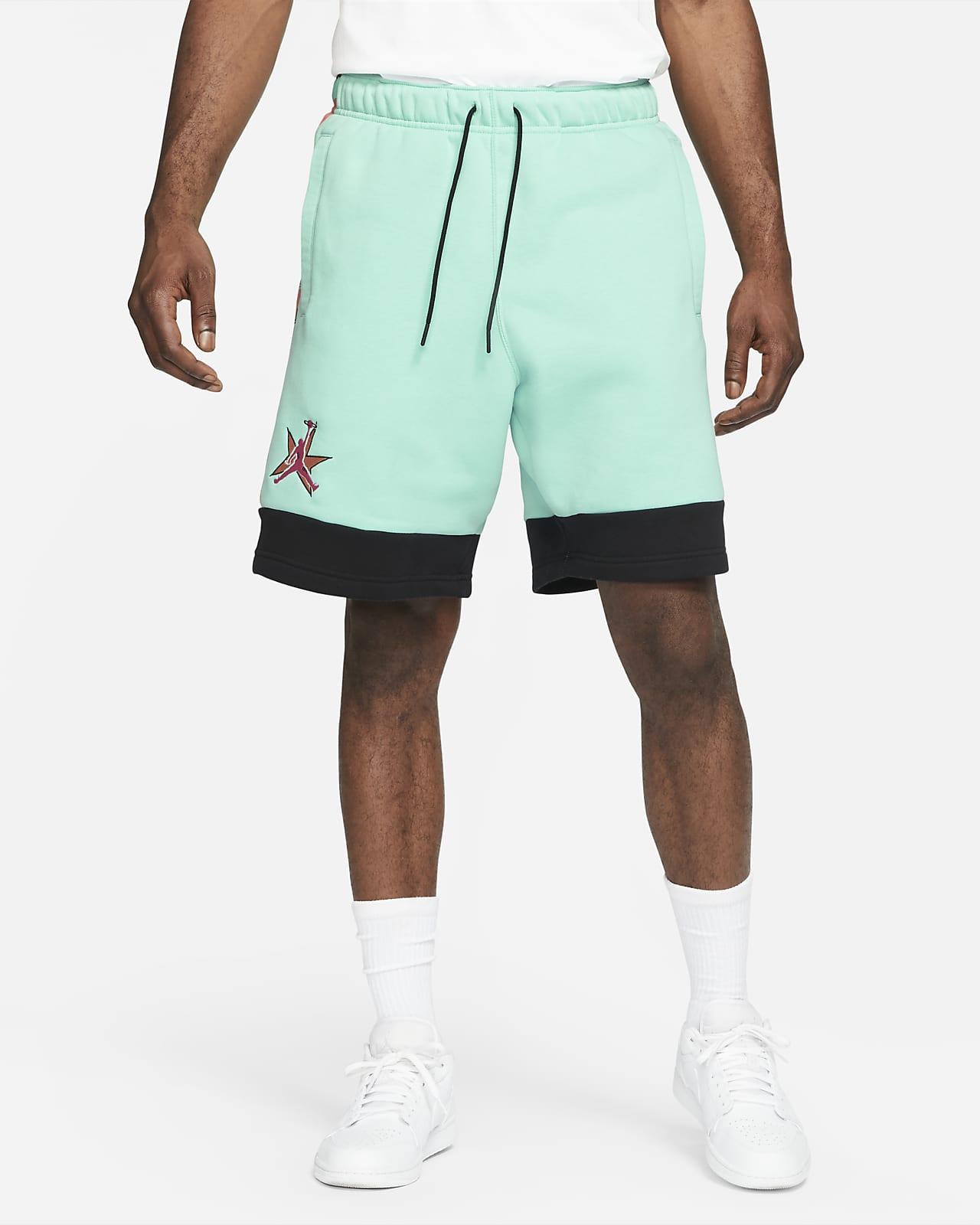 กางเกงขาสั้นผ้าฟลีซผู้ชาย Jordan AJ11