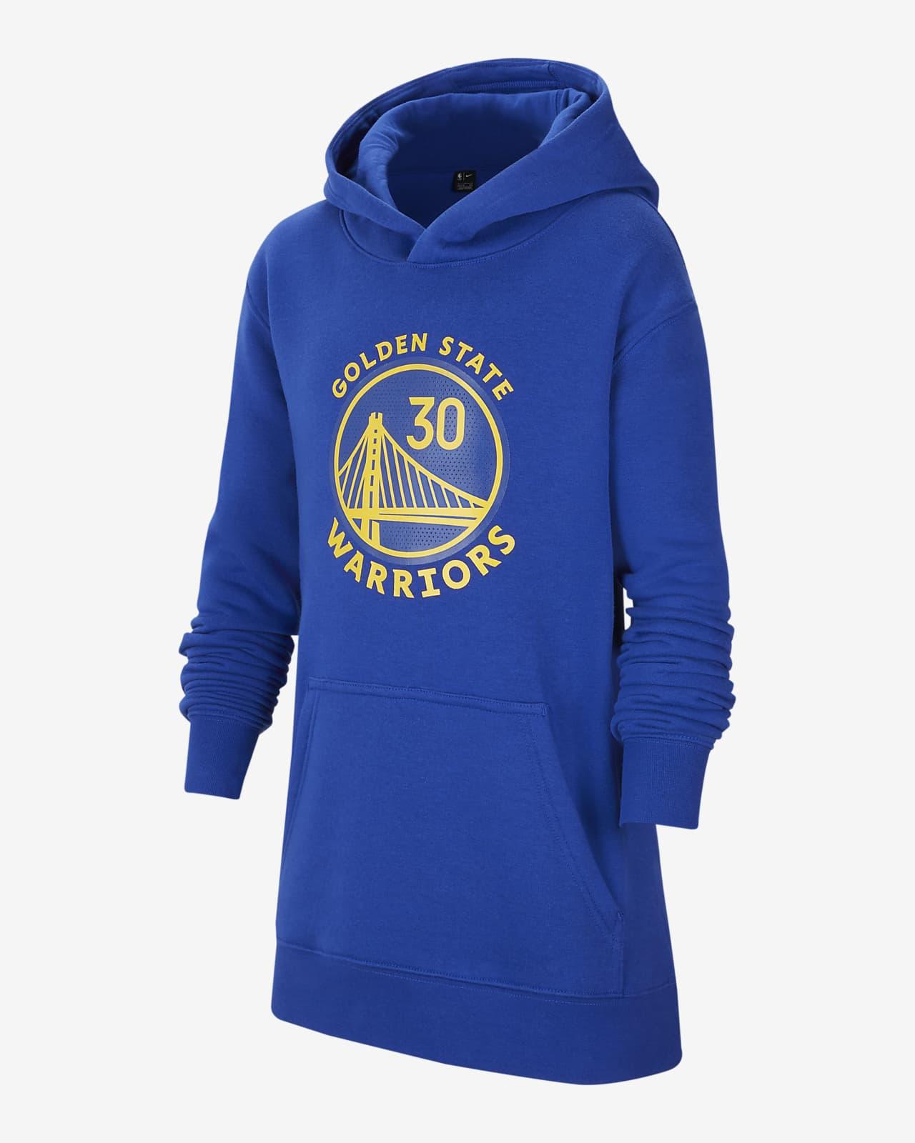 Golden State Warriors Essential Older Kids' Nike NBA Hoodie