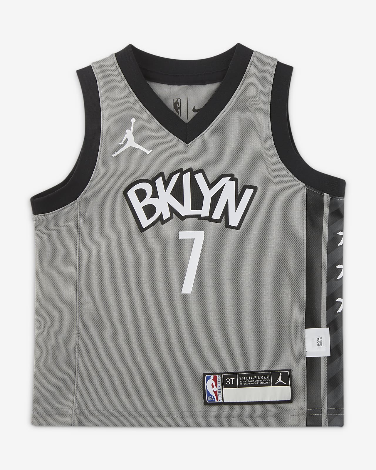 布鲁克林篮网队 (Kevin Durant) Statement Edition Jordan NBA Replica Jersey 婴童球衣