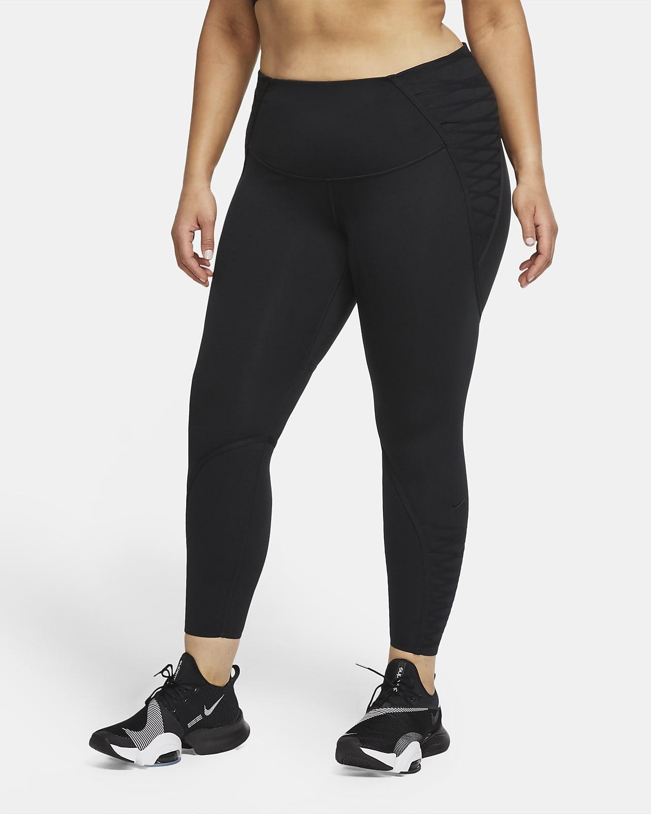 Nike One Luxe Women's 7/8 Laced Leggings (Plus Size)