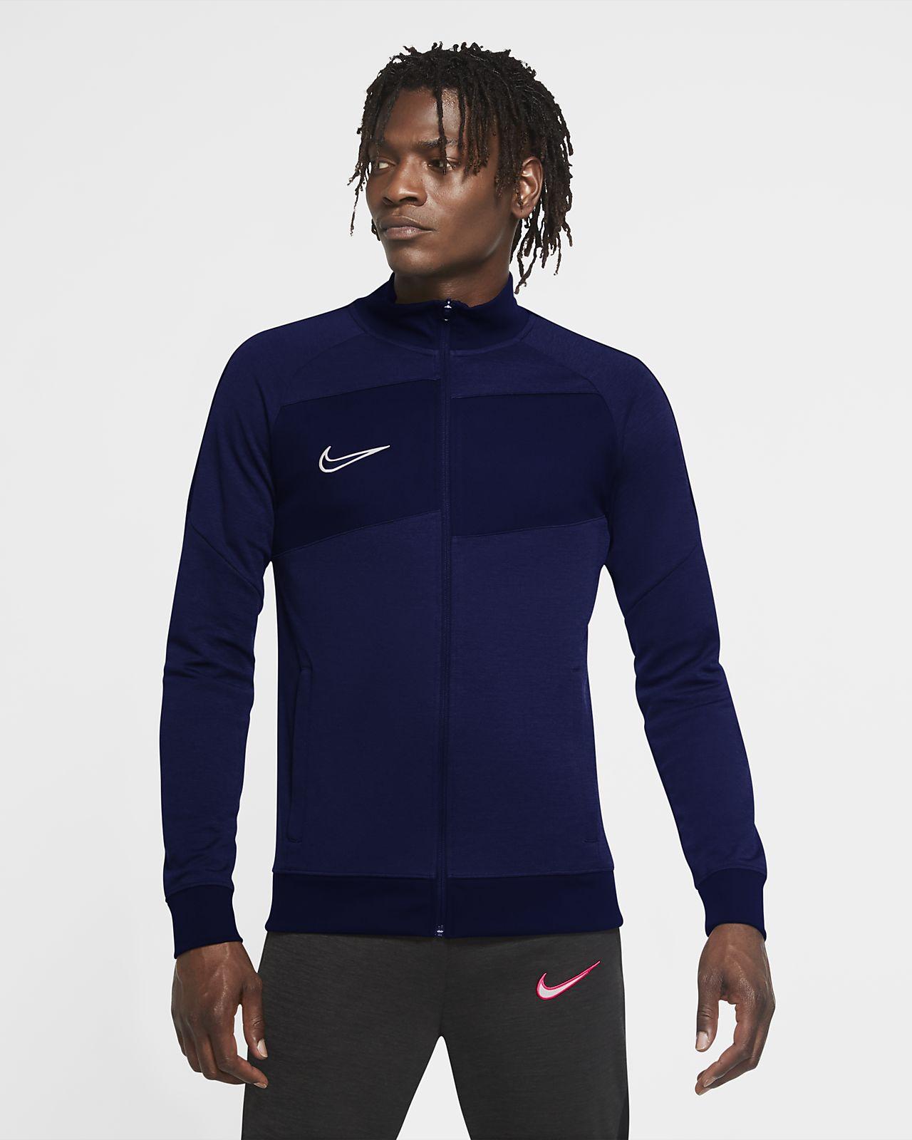 Casaco de treino de futebol de malha Nike Dri-FIT Academy para homem