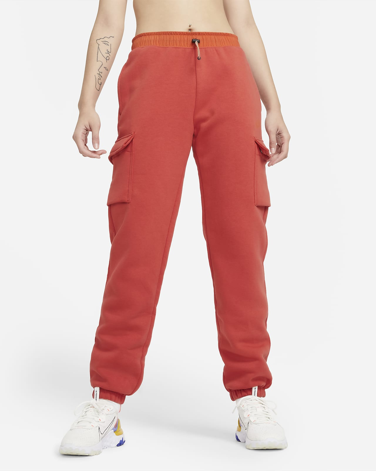 Nike Sportswear Pantalón con bolsillos de tejido Fleece - Mujer