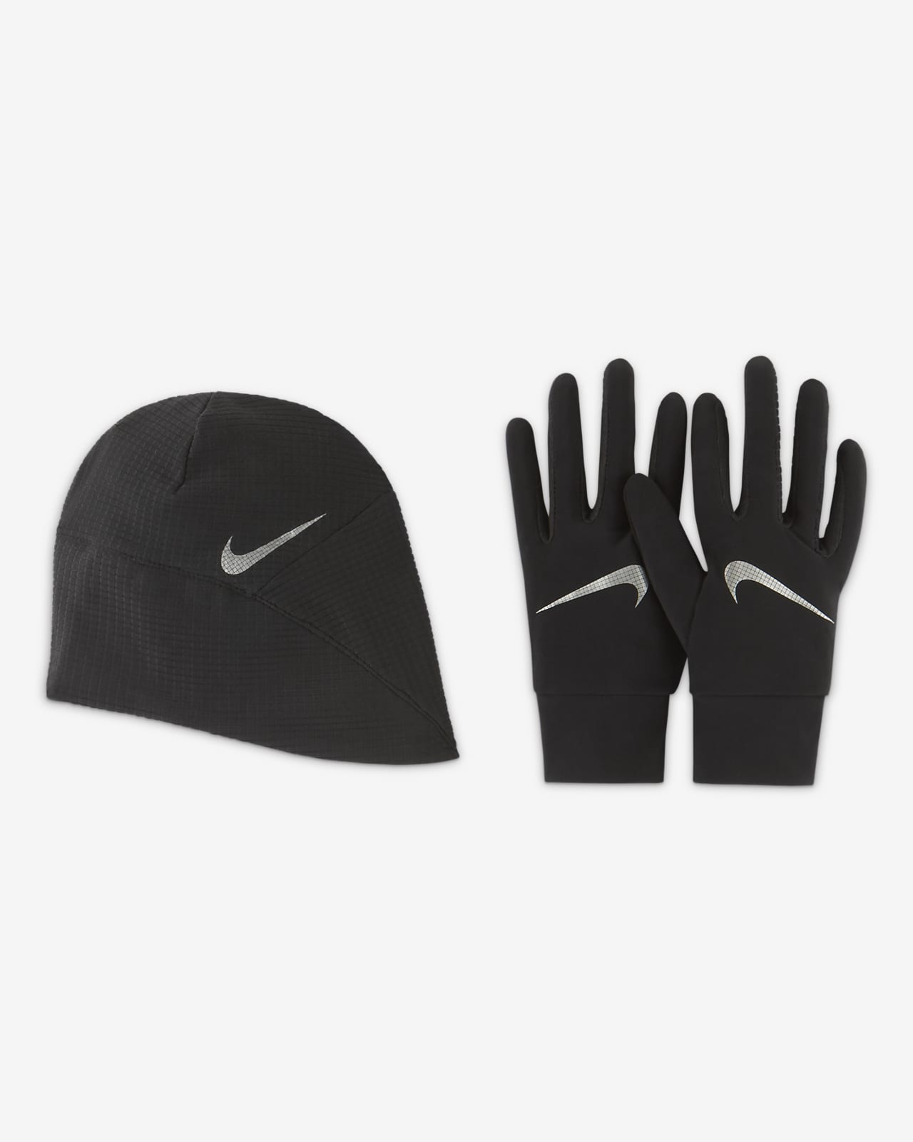 Nike Essential Men's Running Hat and Glove Set