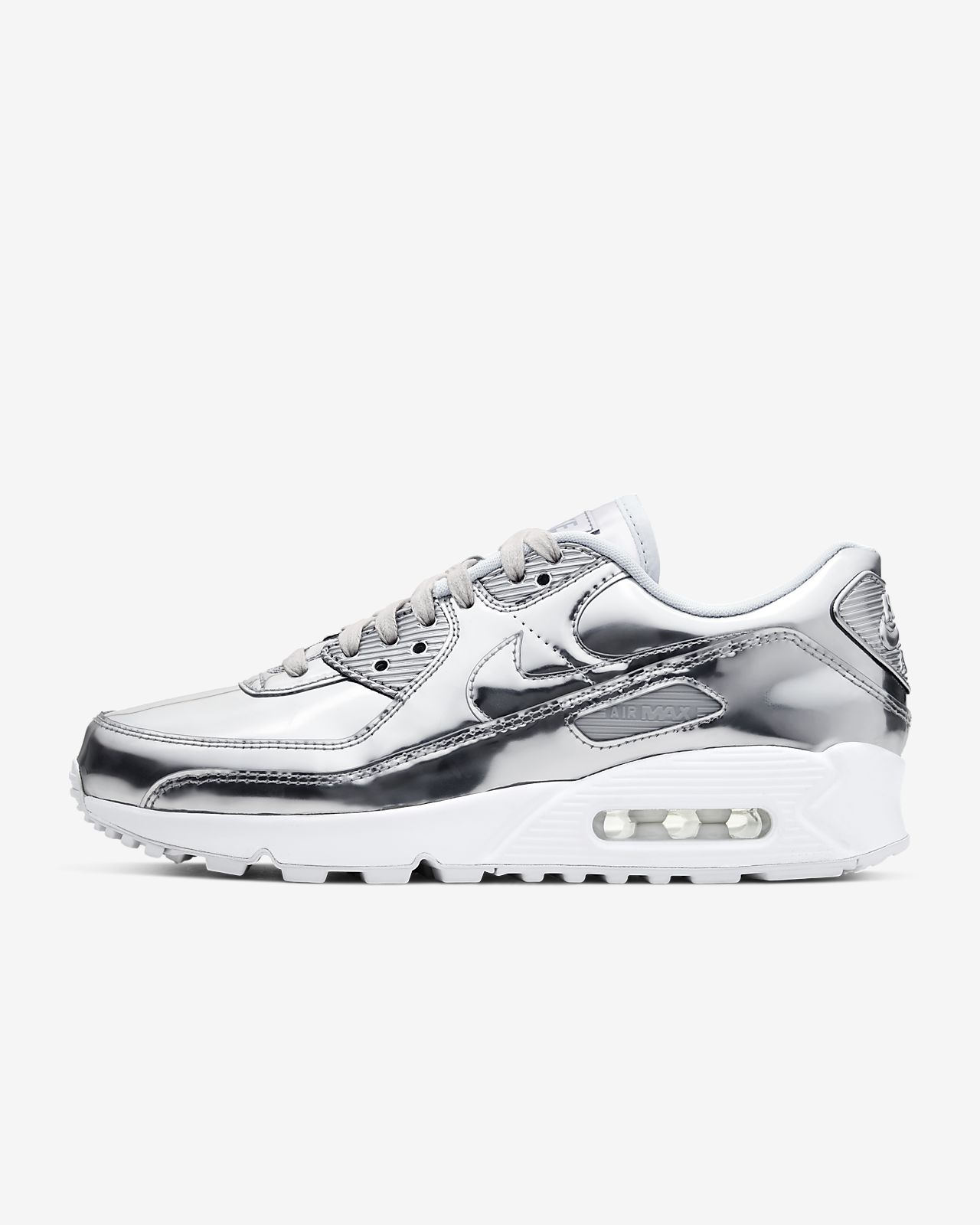 Sverige Nike Air Max 90 Og Kvinna Man Skor White Neutral