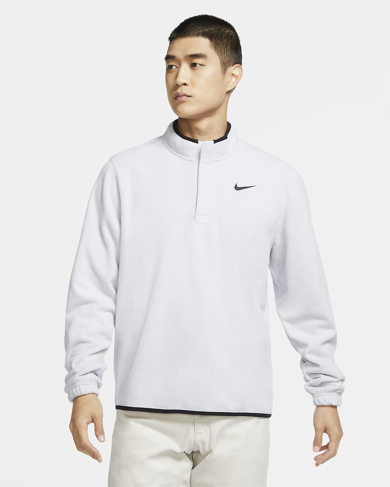 Golftröja med halv dragkedja Nike Therma Victory för män
