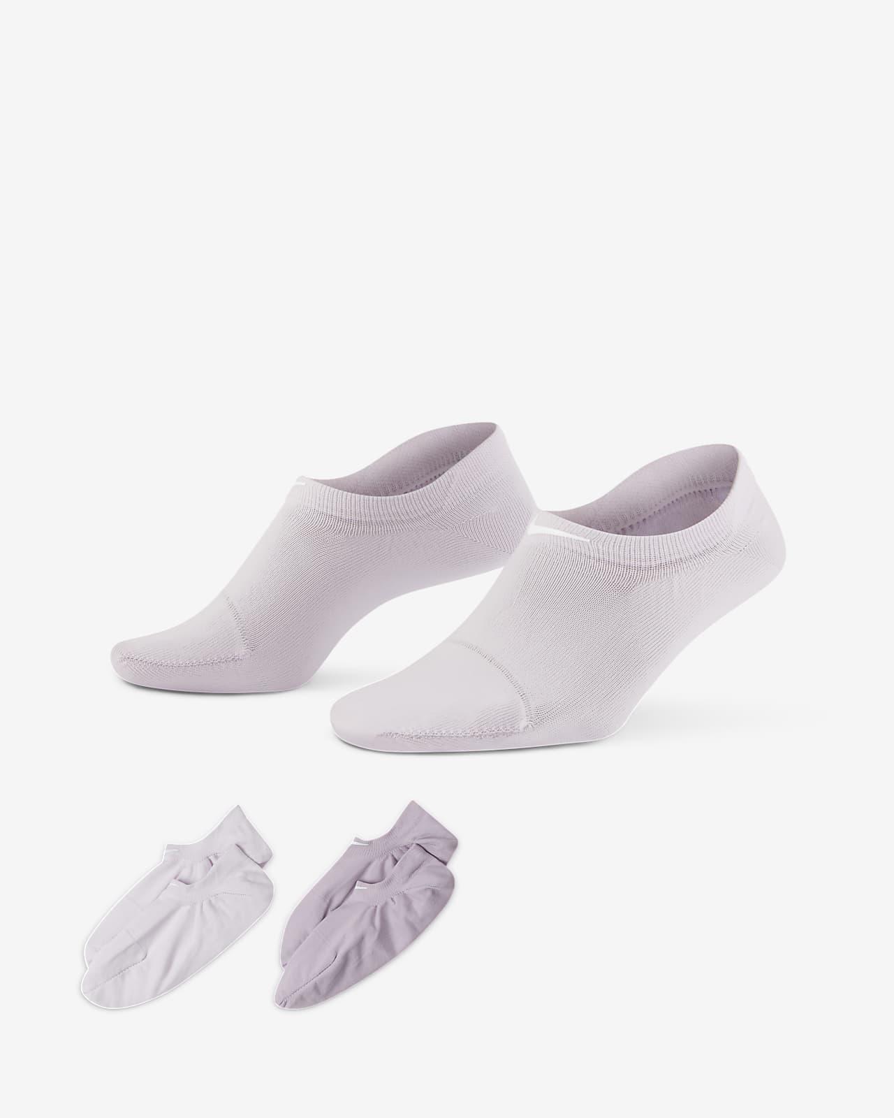 Nike One 女款訓練隱形襪 (2 雙)